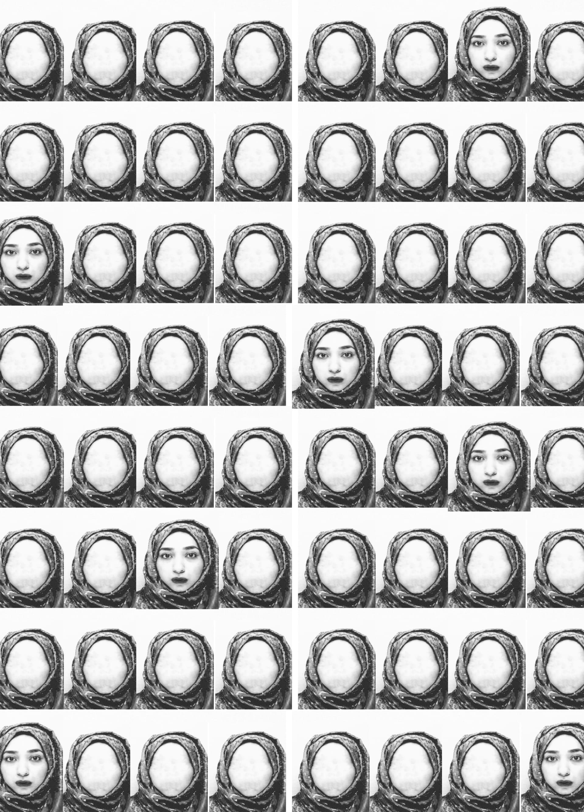 صور لنساء بلا وجوه وكلمات بلا أسطر.. ما علاقتها بالمحجبات؟