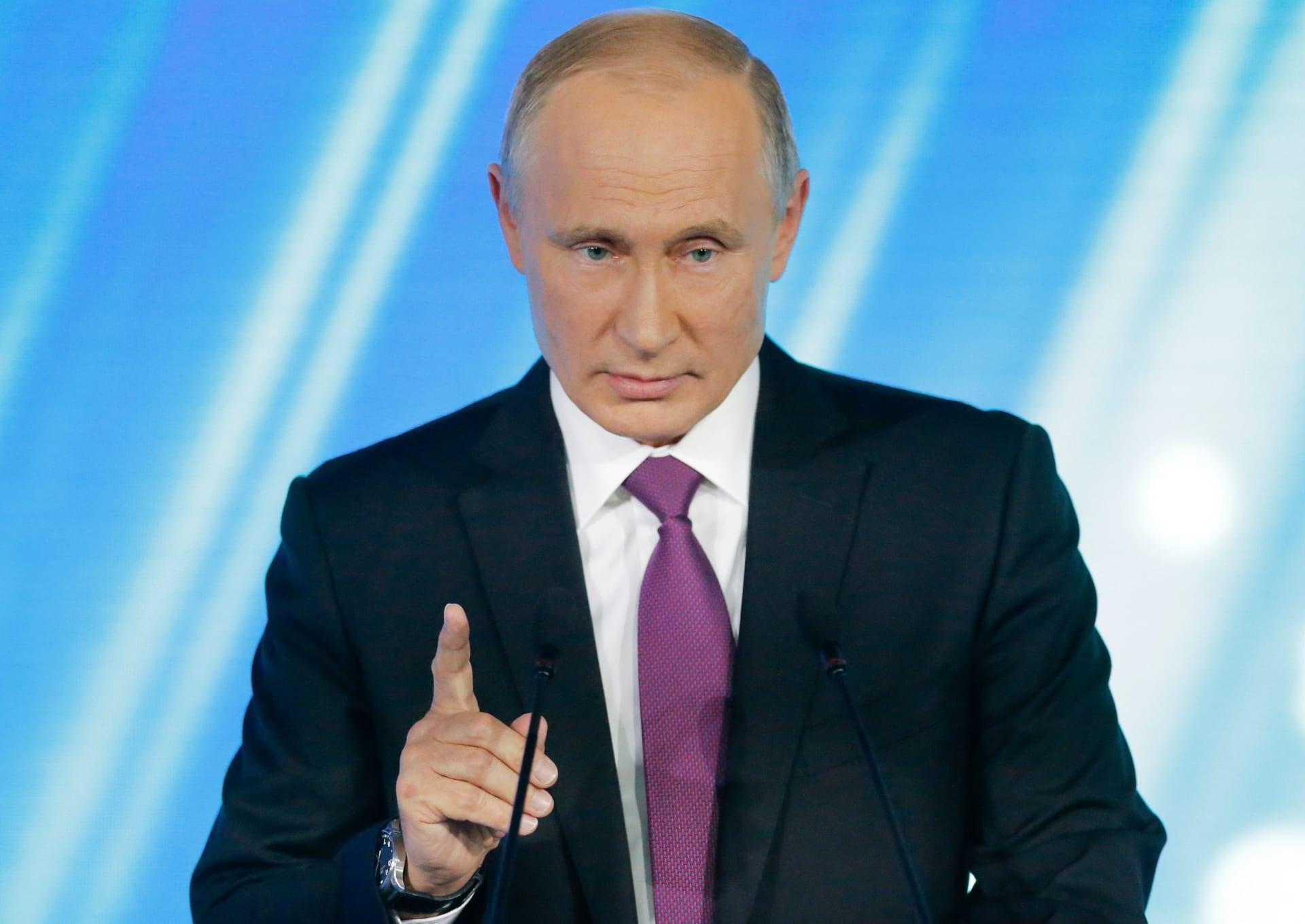 """بوتين عن نية أمريكا الانسحاب من معاهدة """"القوى النووية"""": سنرد بالمثل"""