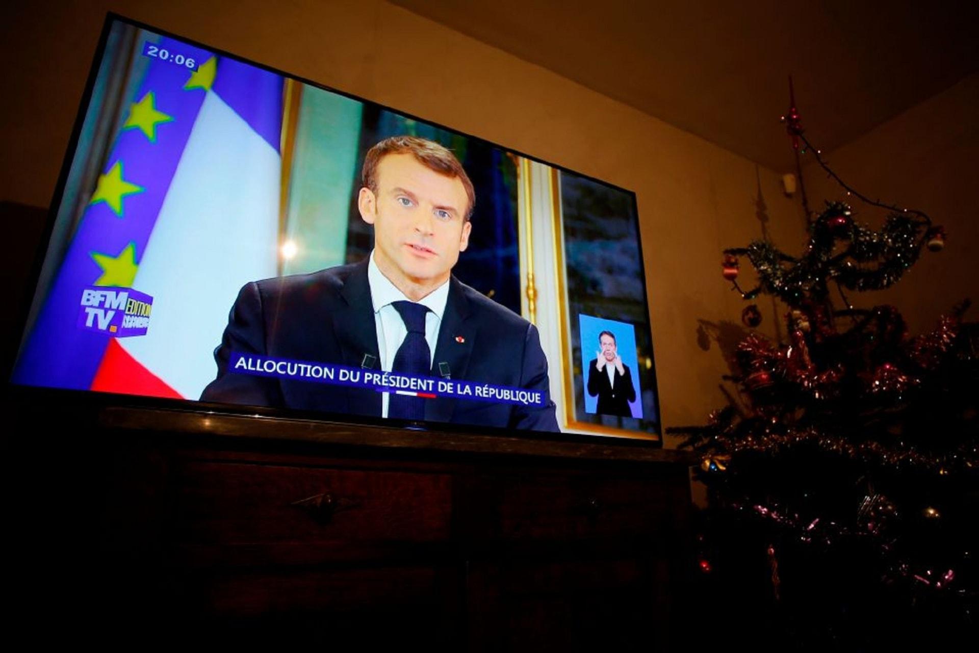 """كيف تابع الفرنسيون خطاب ماكرون عن """"السترات الصفراء""""؟"""