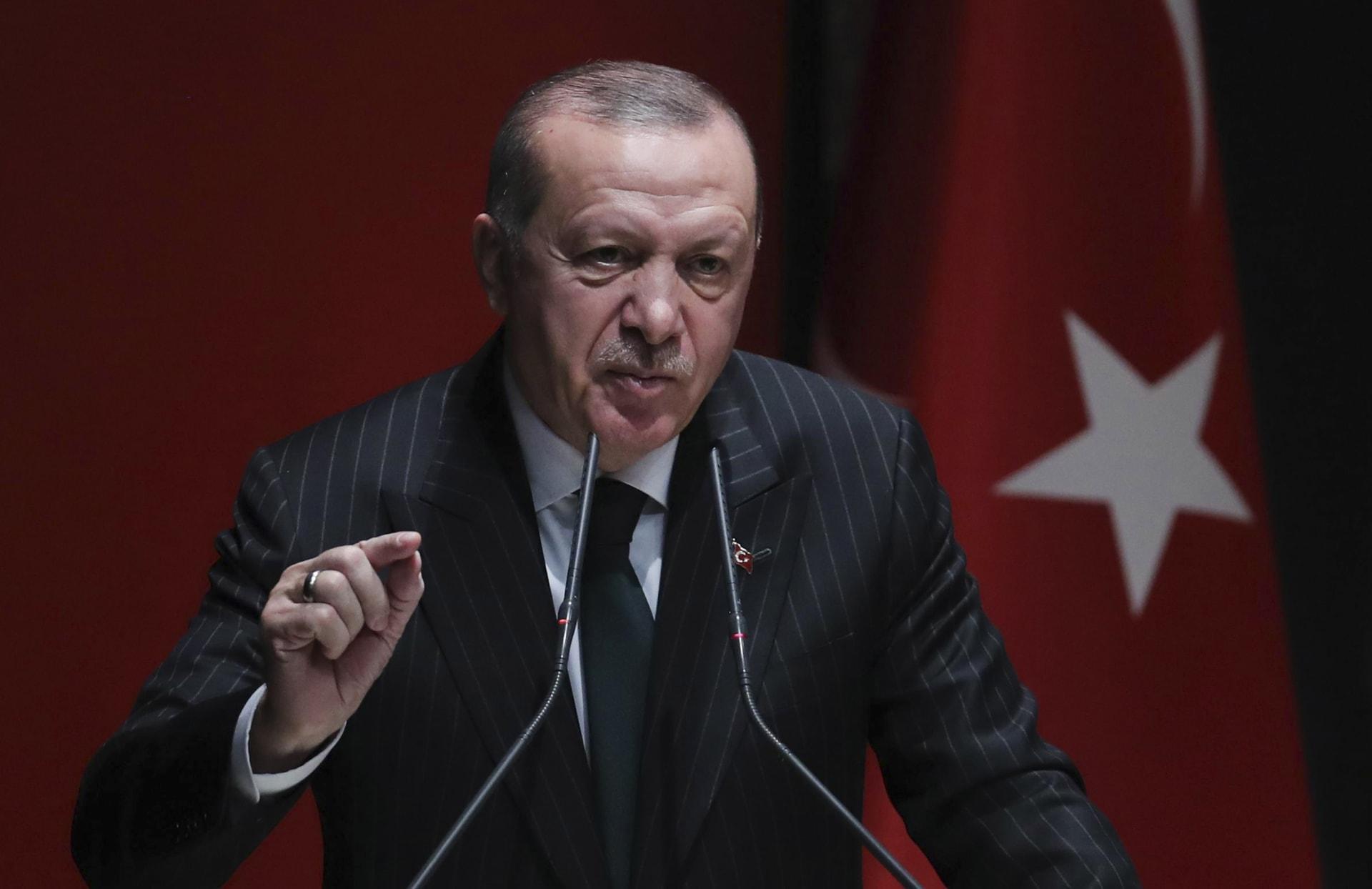 أردوغان يعلن عن اعتزام تركيا بدء عملية عسكرية شرقي الفرات