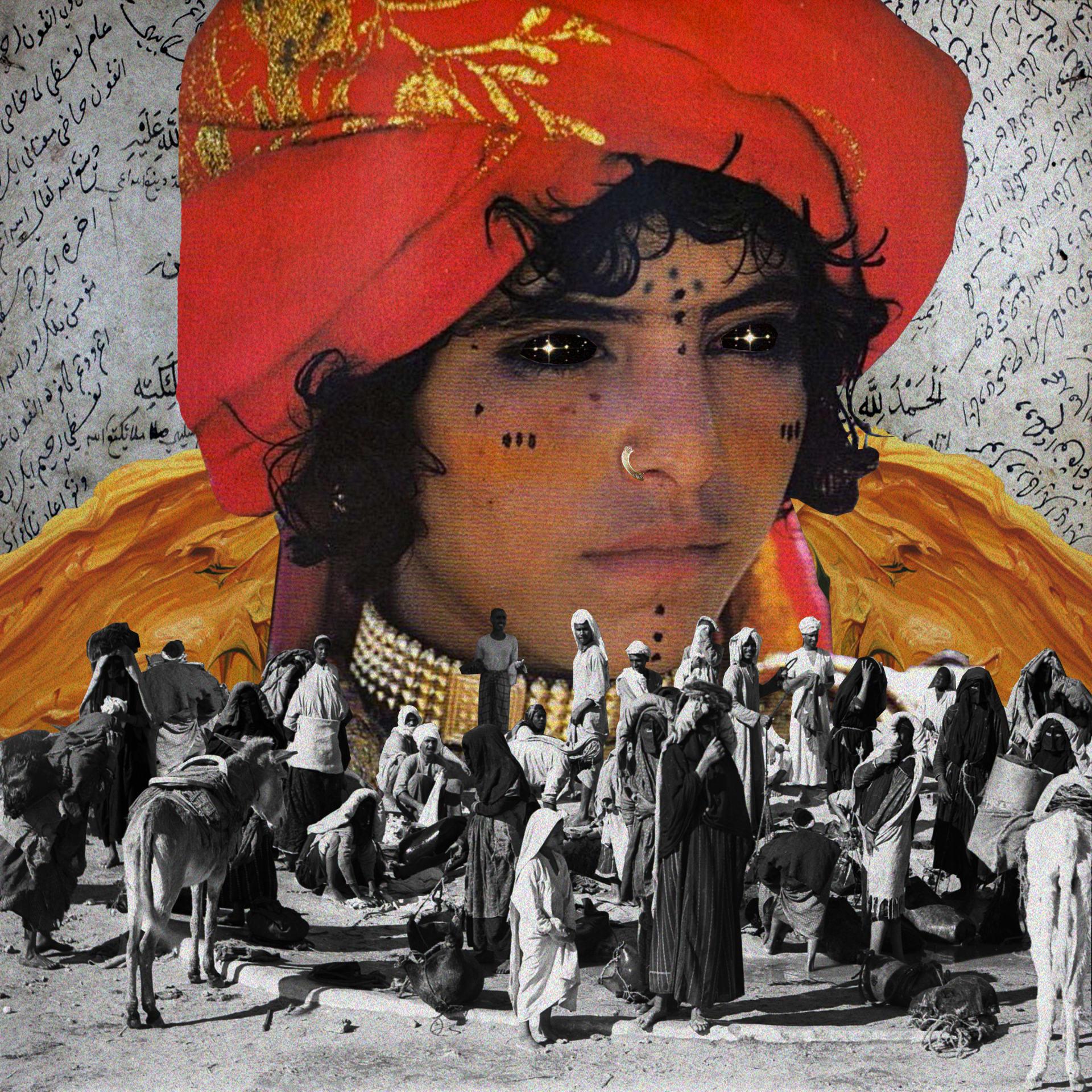 على يد هذه الفنانة السعودية.. قضايا الشرق الأوسط بطابع سريالي