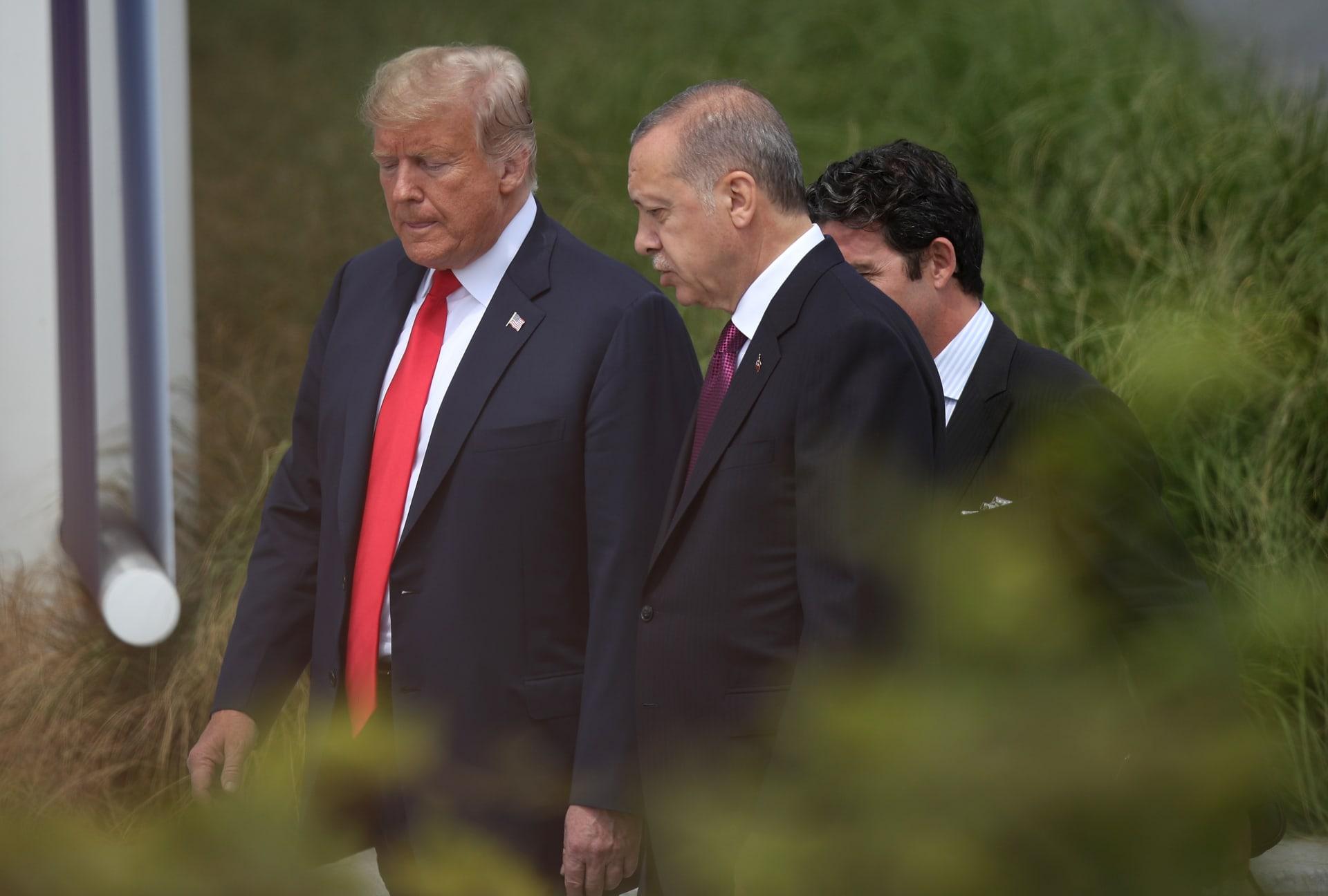 ترامب: أردوغان سيقضي على ما تبقى من داعش في سوريا.. وقواتنا ستعود