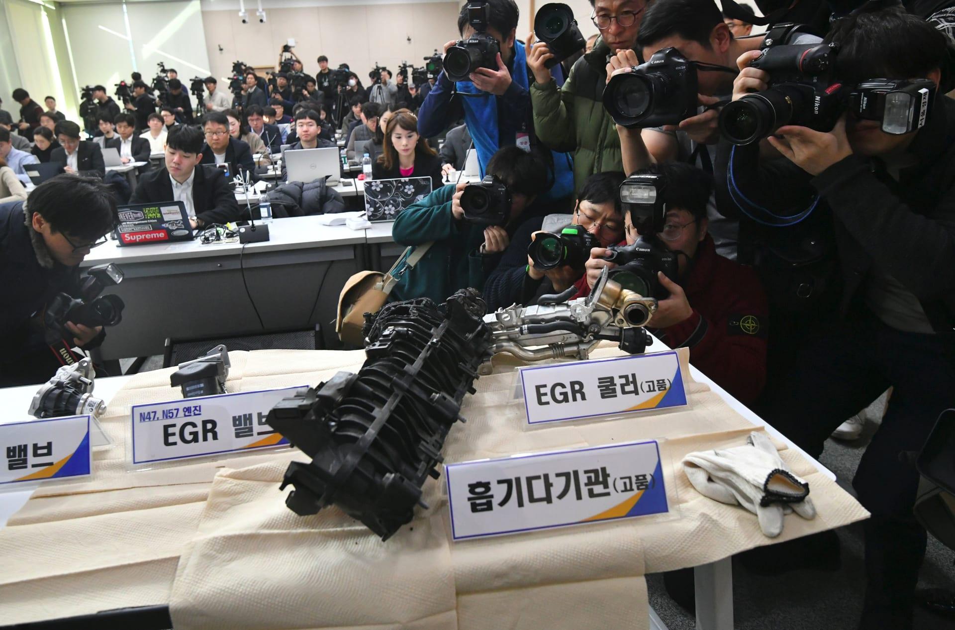 كوريا الجنوبية..غرامة 10 ملايين دولار على BMW بسبب حرائق السيارات