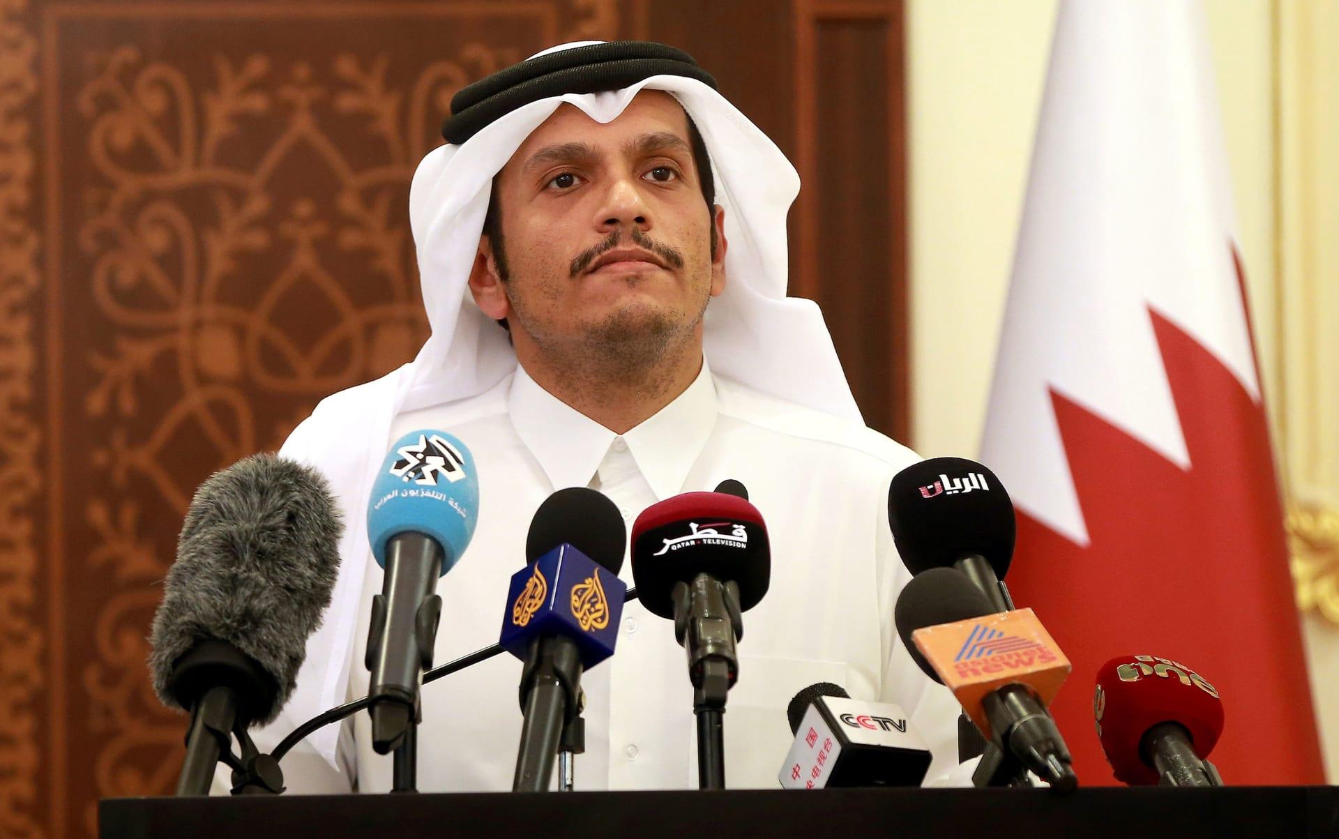 """وزير خارجية قطر عن """"إلهاء الشعوب بأزمات مفتعلة"""": الشمس لا تغطى بغربال"""