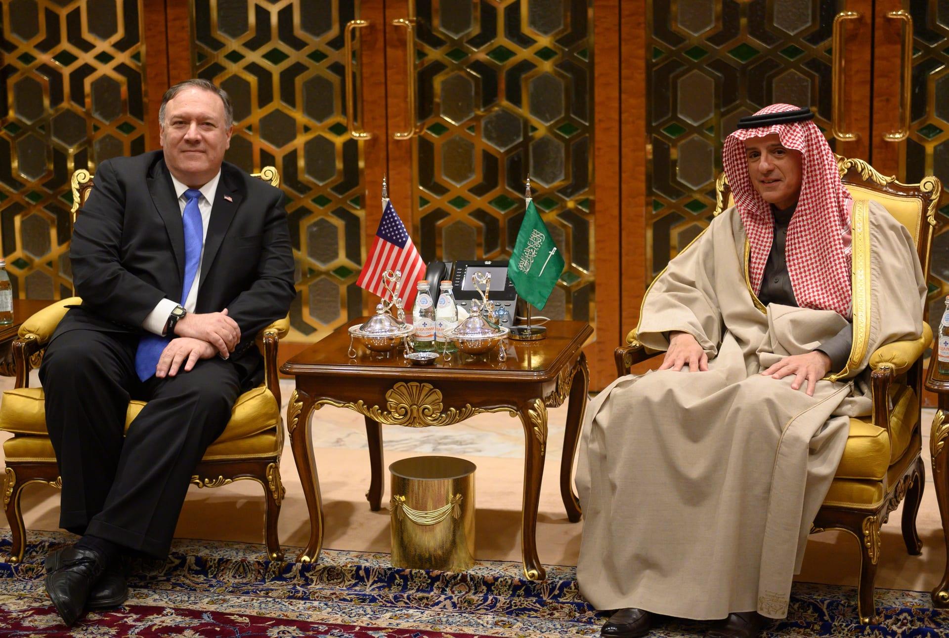 بومبيو يصل إلى السعودية للقاء ولي العهد خلال جولة شرق أوسطية