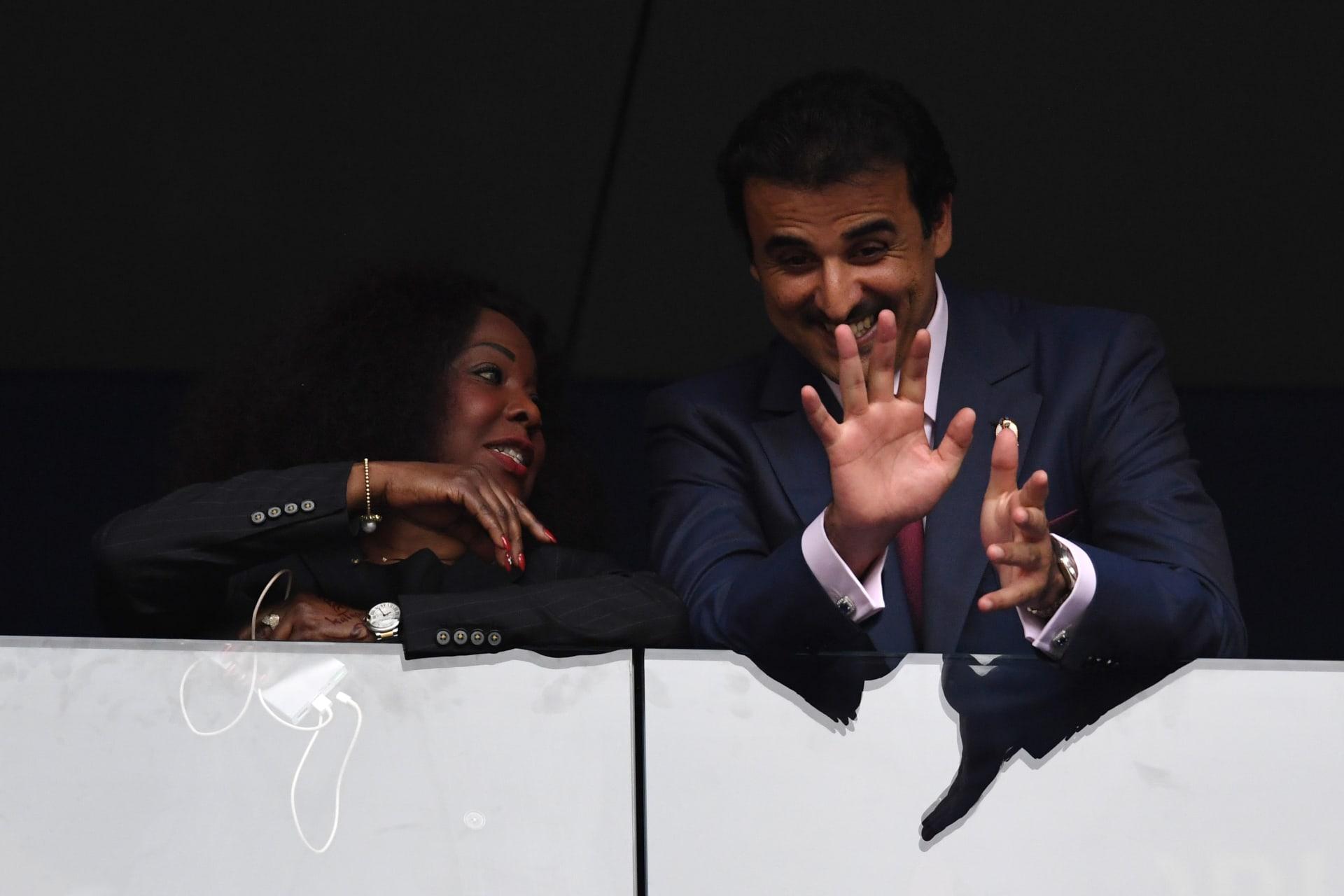 كيف علق أمير قطر على وصول منتخب بلاده لنصف نهائي كأس آسيا؟