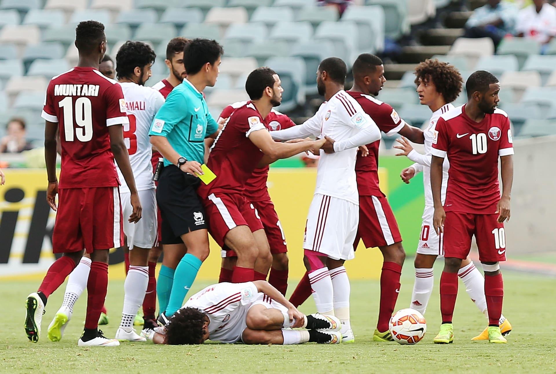 """بعد تحذيرات شرطة أبوظبي.. كيف يمكن أن تؤثر مشادات """"السوشال ميديا"""" على مباراة الإمارات وقطر؟"""
