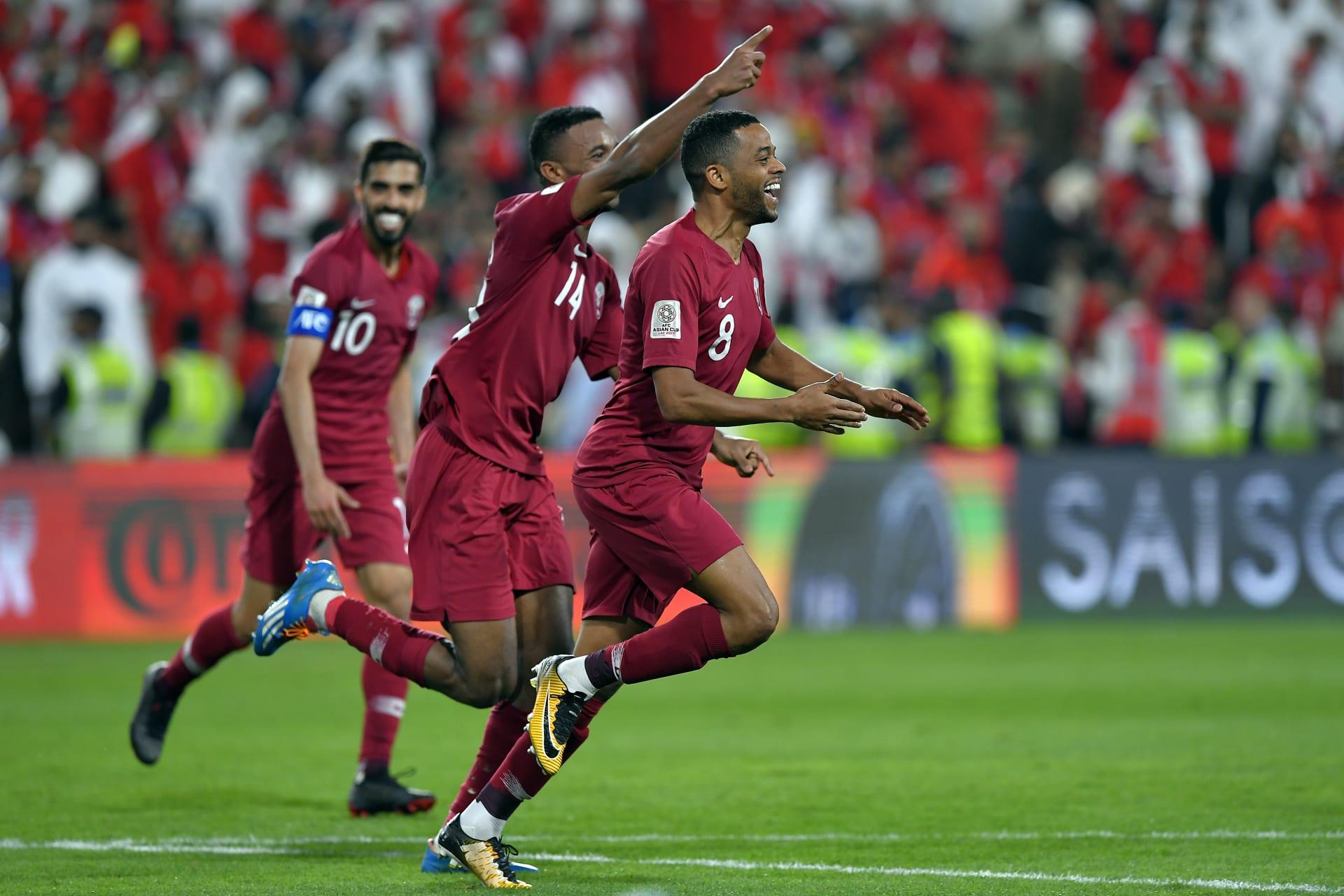 قطر تفوز على الإمارات وتواجه اليابان في نهائي كأس آسيا