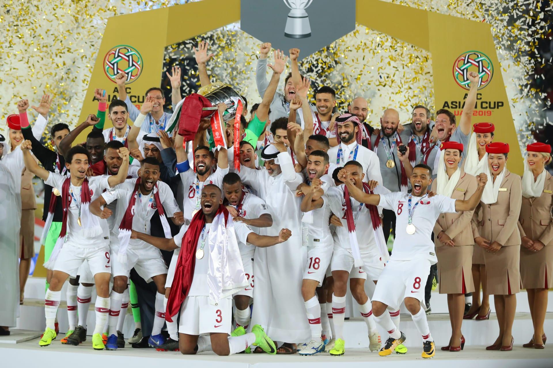 هكذا هنأ أمير قطر منتخب بلاده بعد الفوز بلقب كأس آسيا