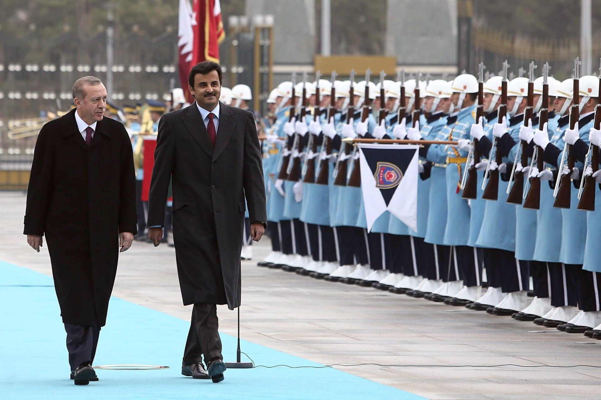 أردوغان يهنئ الشيخ تميم بفوز قطر بلقب كأس آسيا 2019