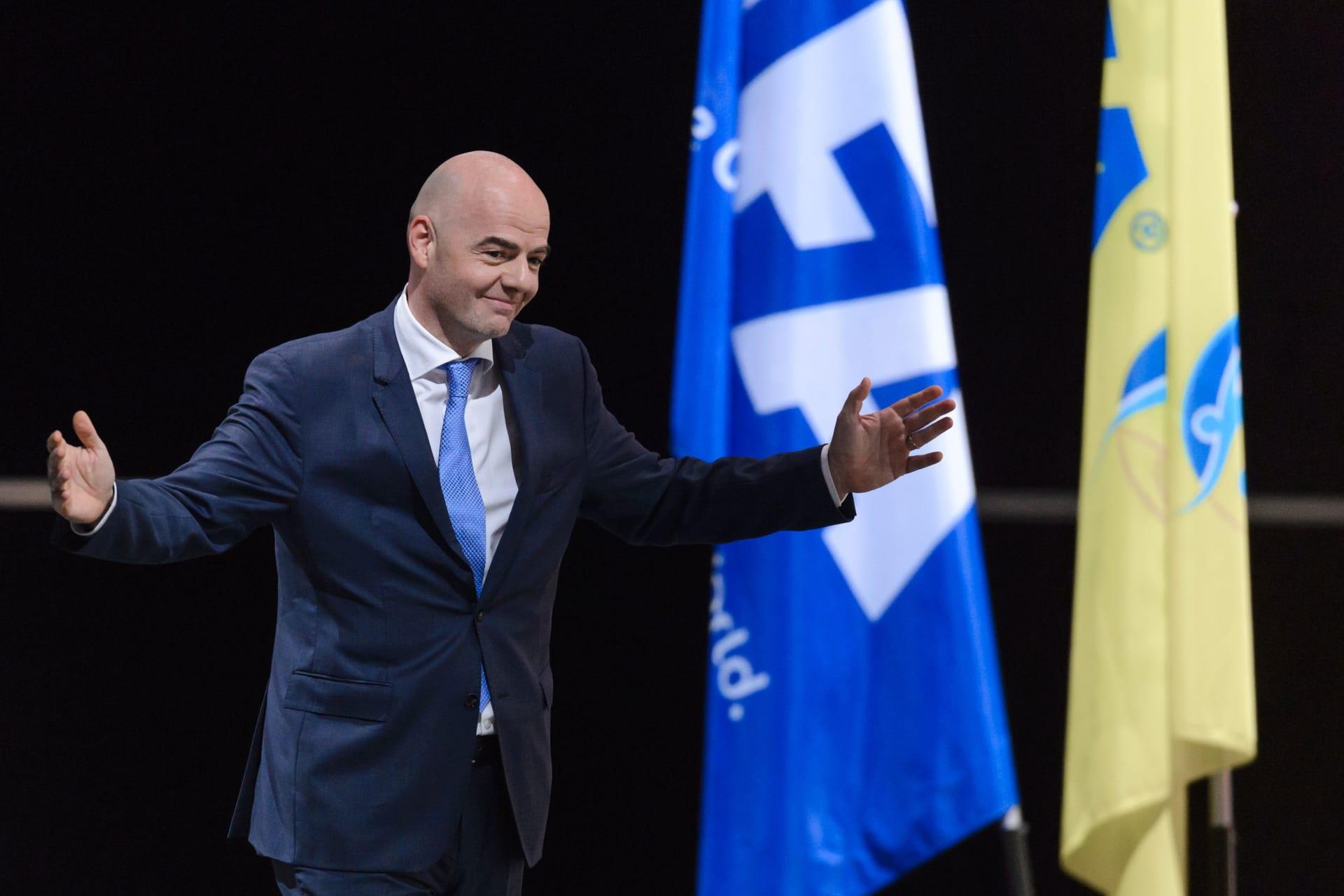 فيفا يكشف عن أول مرشح لانتخاباته الرئاسية المقبلة
