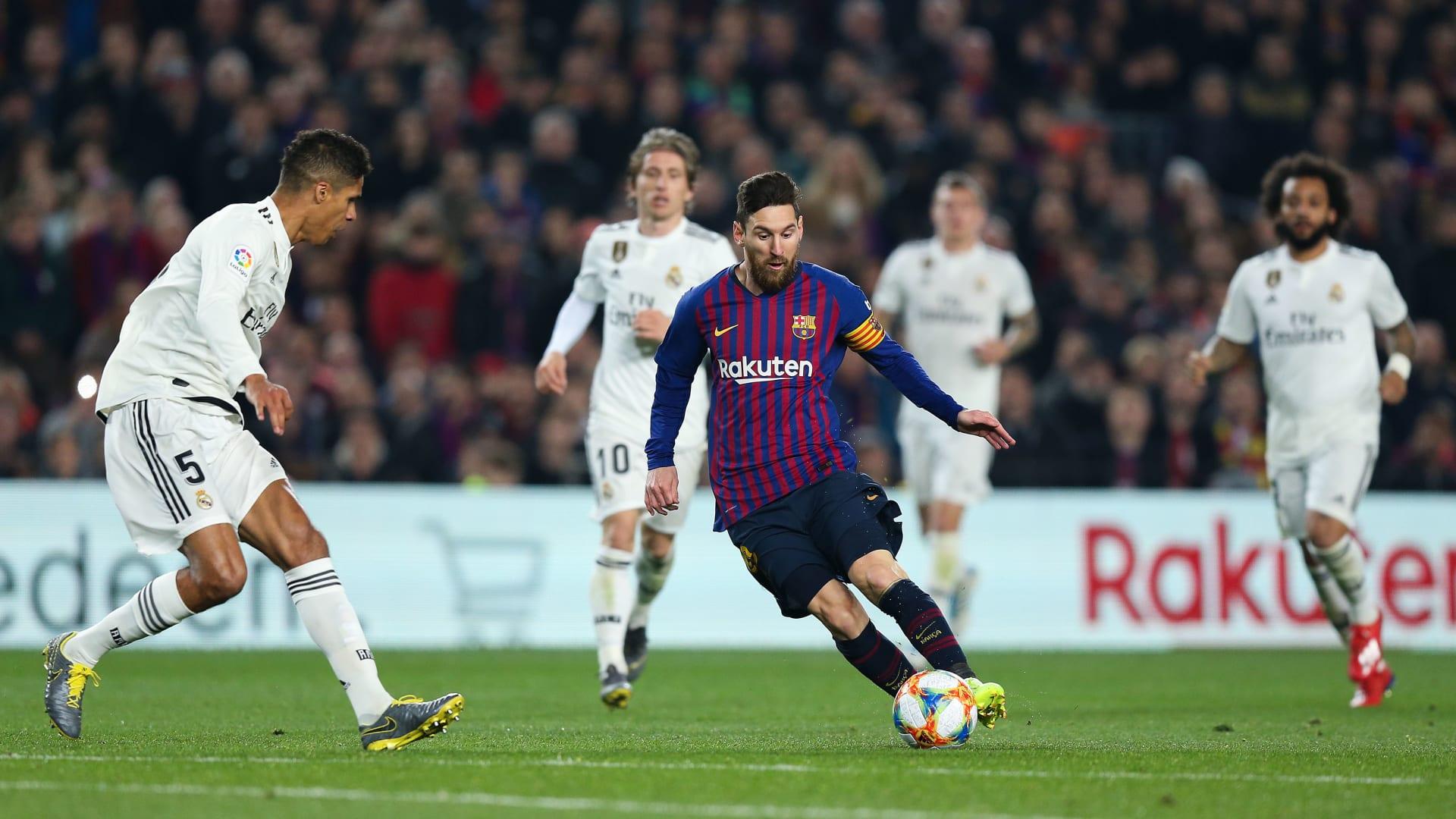 ريال مدريد يفرض التعادل على برشلونة في نصف نهائي كأس الملك
