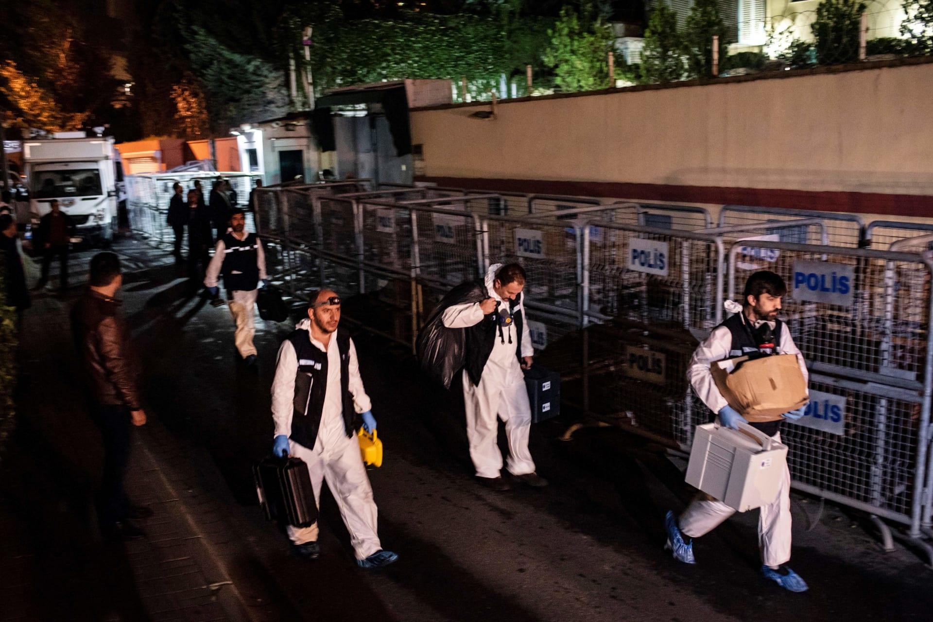 """مقتل خاشقجي.. شرطة إسطنبول تحقق في """"32 وجبة لحم غير مطهي"""""""