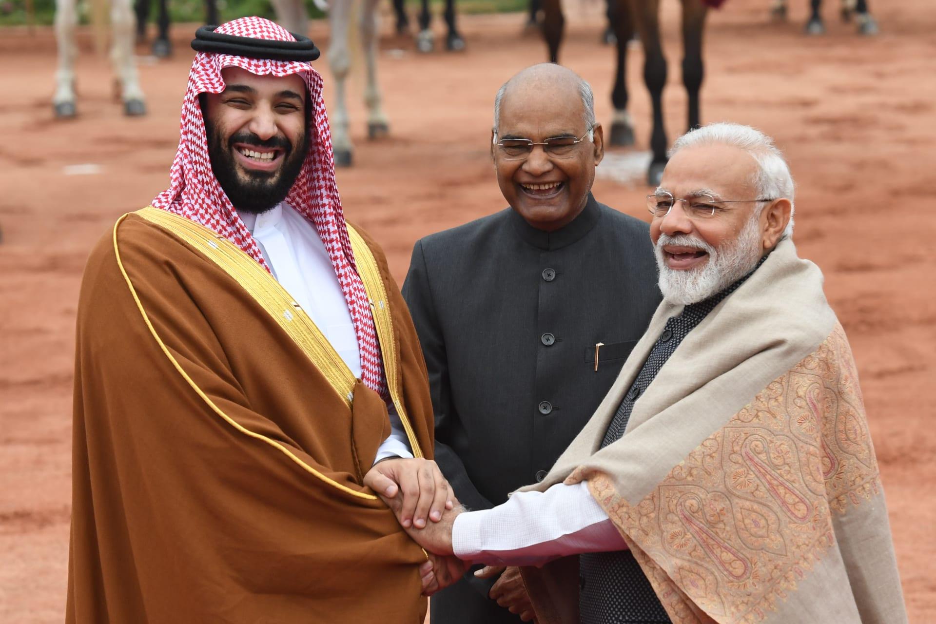 محمد بن سلمان: نستهدف استثمارات تفوق 100 مليار دولار في الهند خلال عامين