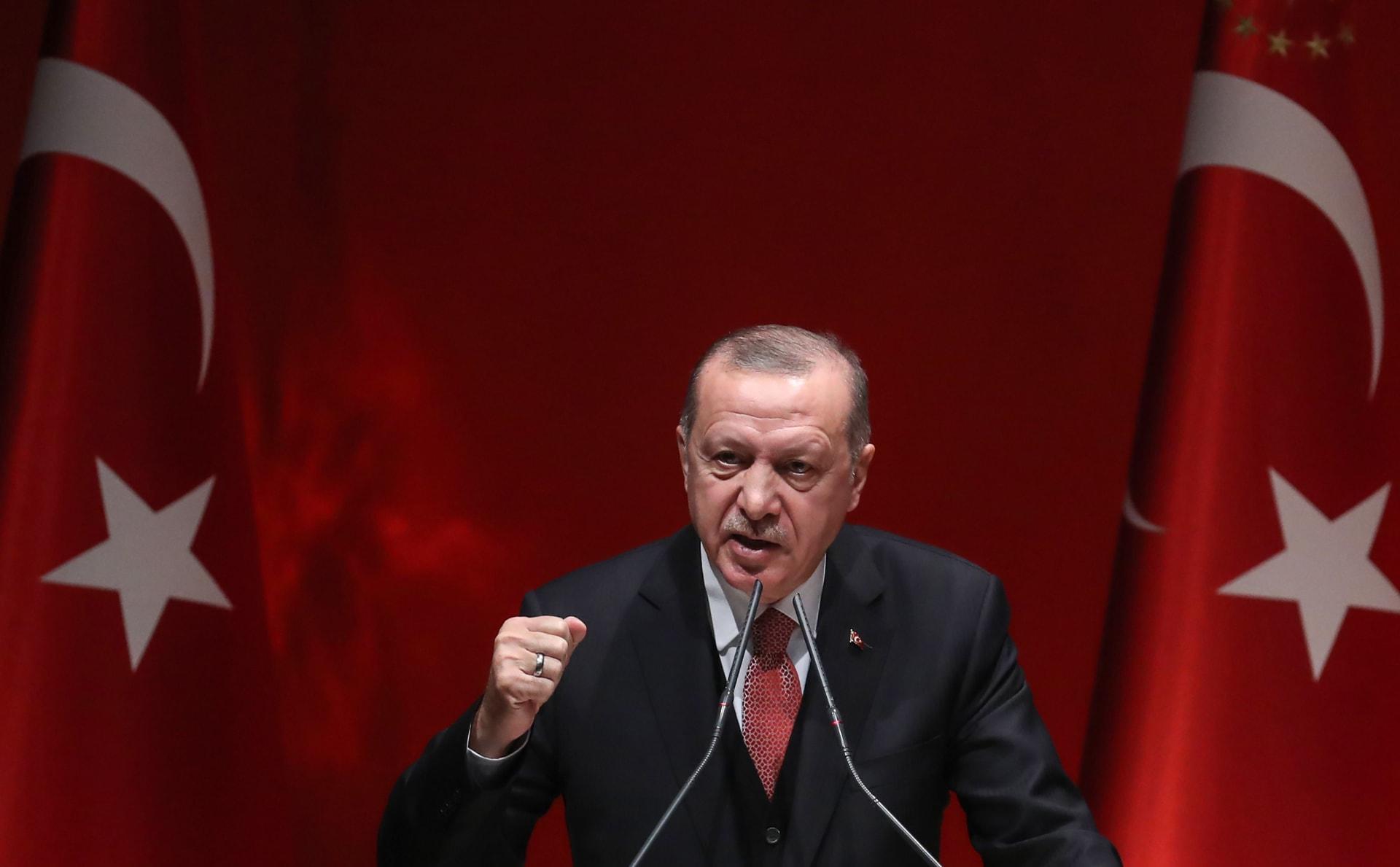 أردوغان: تركيا تعرضت لهجوم اقتصادي.. ولا يليق بنا تضخم عند 20%