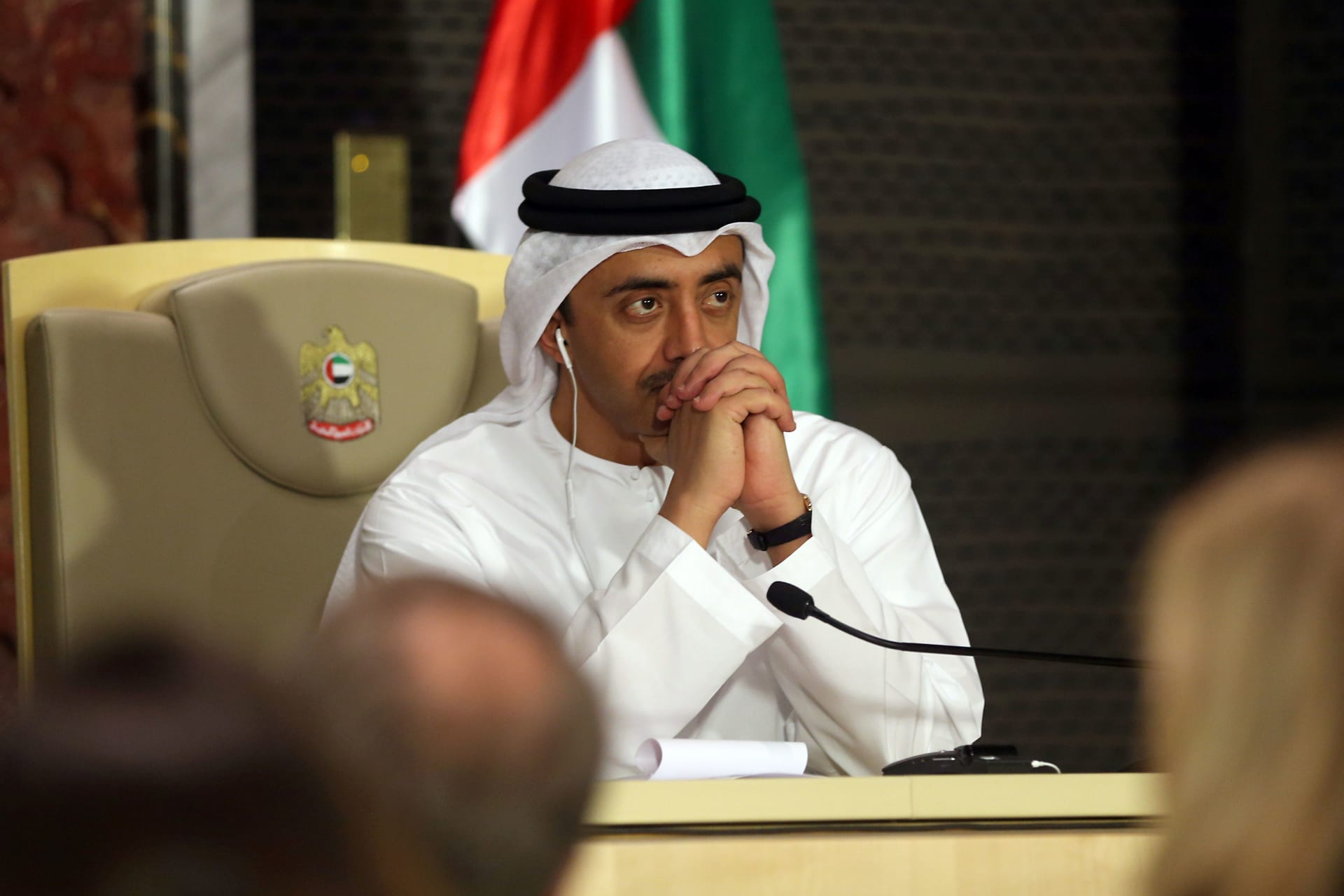 وزير الخارجية الإماراتي: حريصون على عودة دور سوريا عربيا