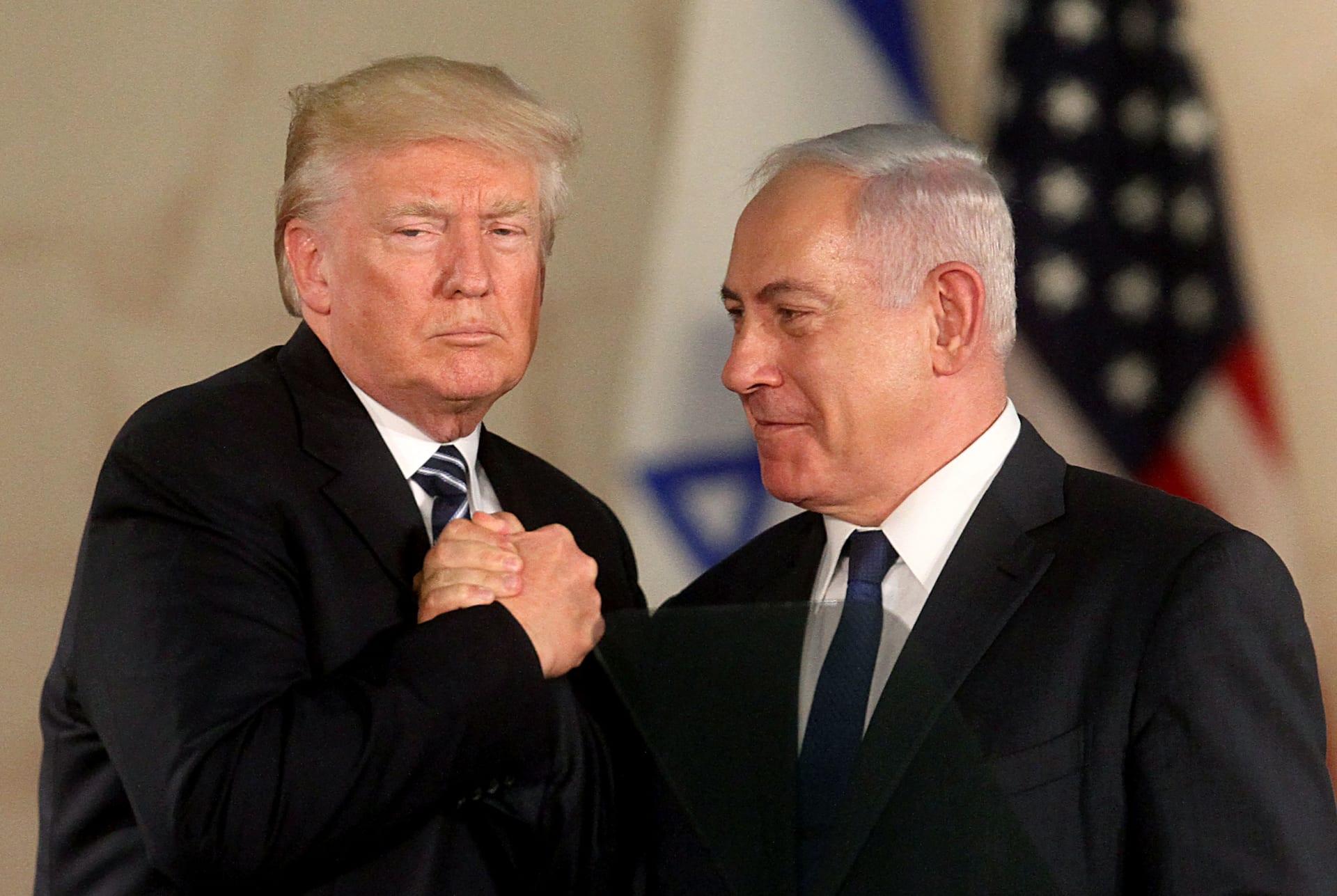 ترامب: حان الوقت للاعتراف الكامل بسيادة إسرائيل على الجولان