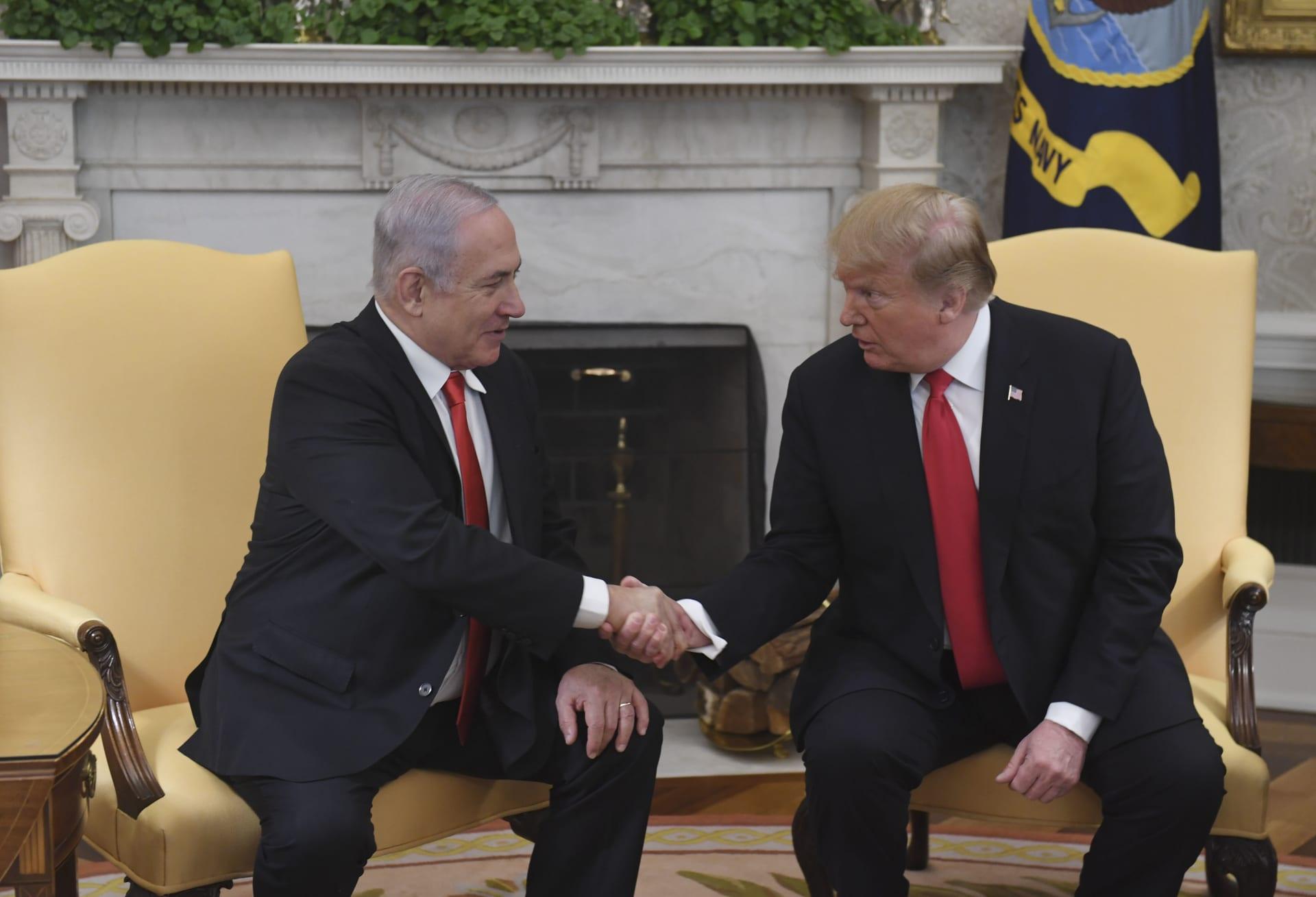 الإمارت والبحرين تأسفان لاعتراف ترامب بسيادة إسرائيل على الجولان