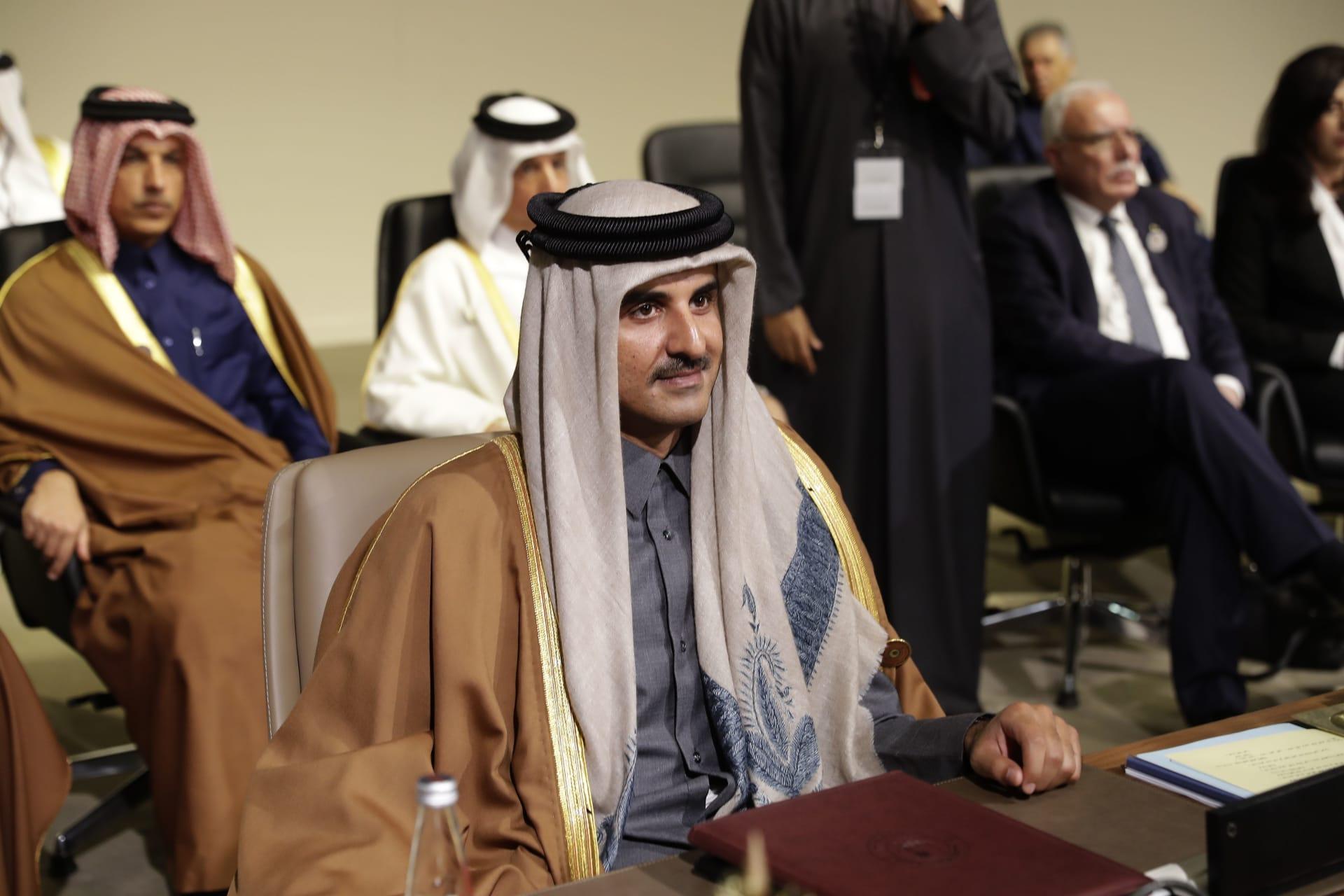 """أمير قطر: الدوحة أصبحت أقوى """"بكثير"""" منذ يونيو عام 2017"""