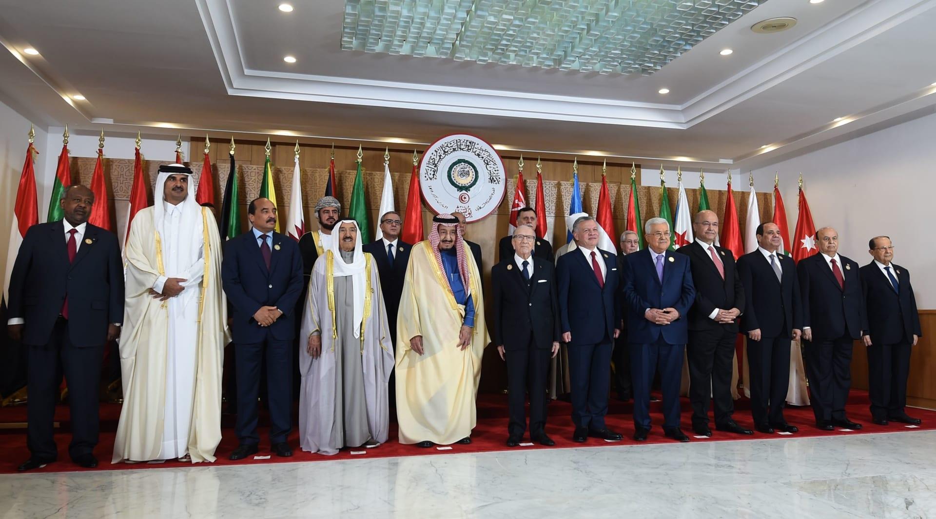 الرئاسة التونسية: لم نتفاجأ بمغادرة أمير قطر القمة العربية والسيسي حضر إكراما للسبسي