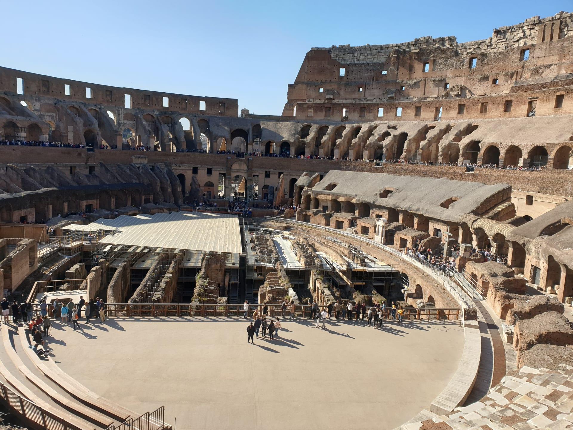 أجمل الأماكن التي يمكنك زيارتها في روما - الكولوسيوم