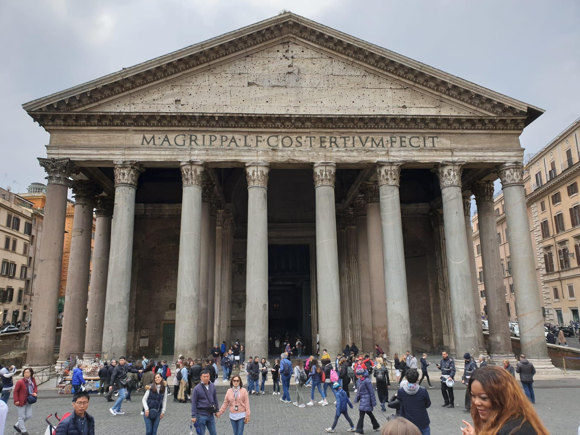 أجمل الأماكن التي يمكنك زيارتها في روما - البانثيون