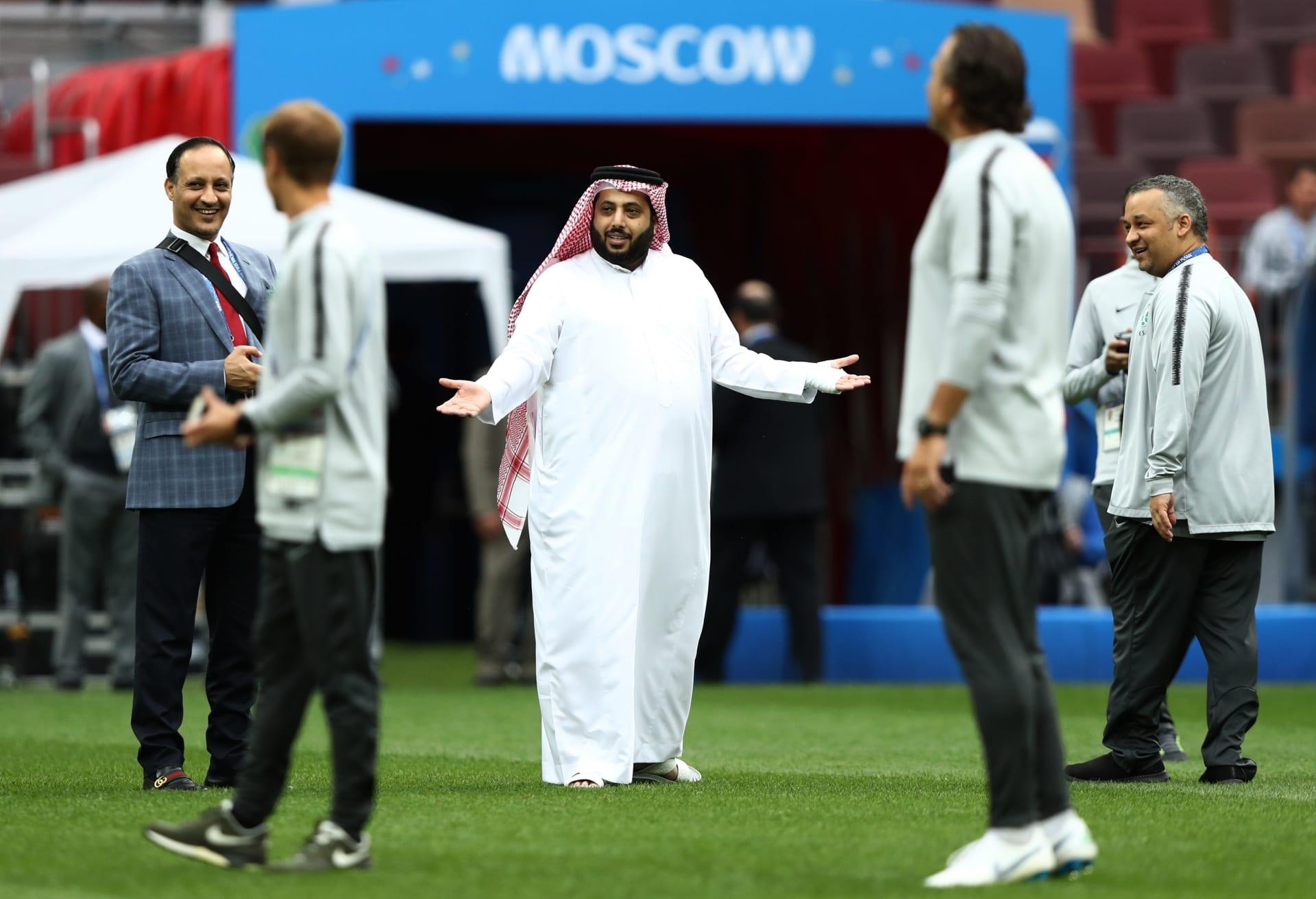 تركي آل الشيخ يتوقع الفائز في مواجهة الأهلي وبيراميدز