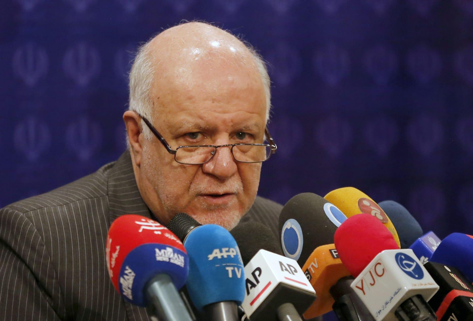 وزير النفط الإيراني: لا يمكن للتصريحات الأمريكية التحكم بأسواق النفط