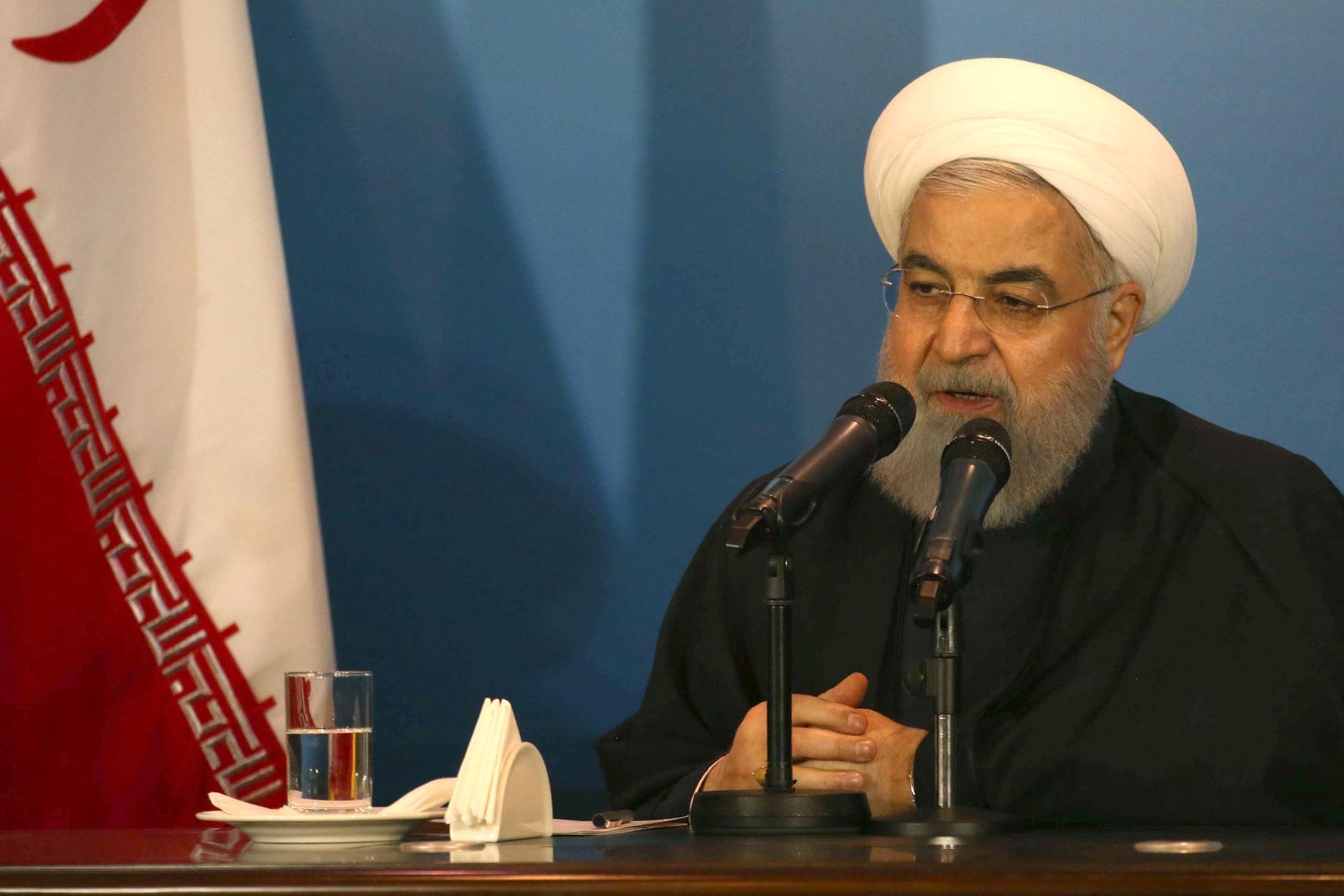 الرئيس الإيراني لأمير قطر: علاقاتنا أخوية وأثبتنا وقوفنا مع أشقائنا القطريين