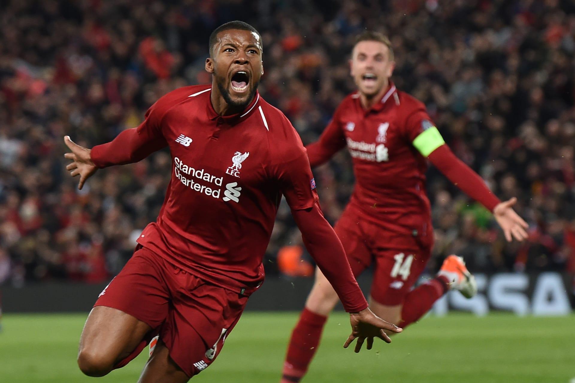 """""""لن يمشي وحيدا"""".. ليفربول يصل إلى النهائي بعد """"ريمونتادا"""" تاريخية على برشلونة"""