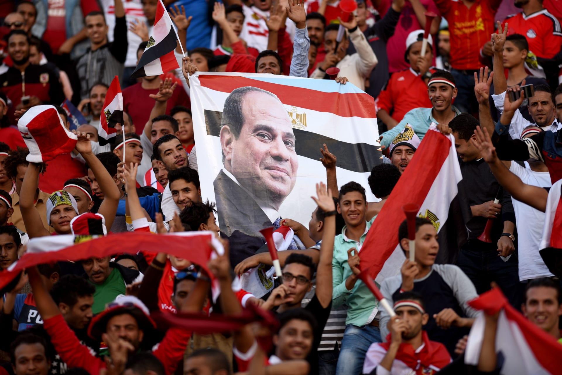 """السيسي """"أول مشجع"""" في كأس أمم أفريقيا 2019 في مصر"""