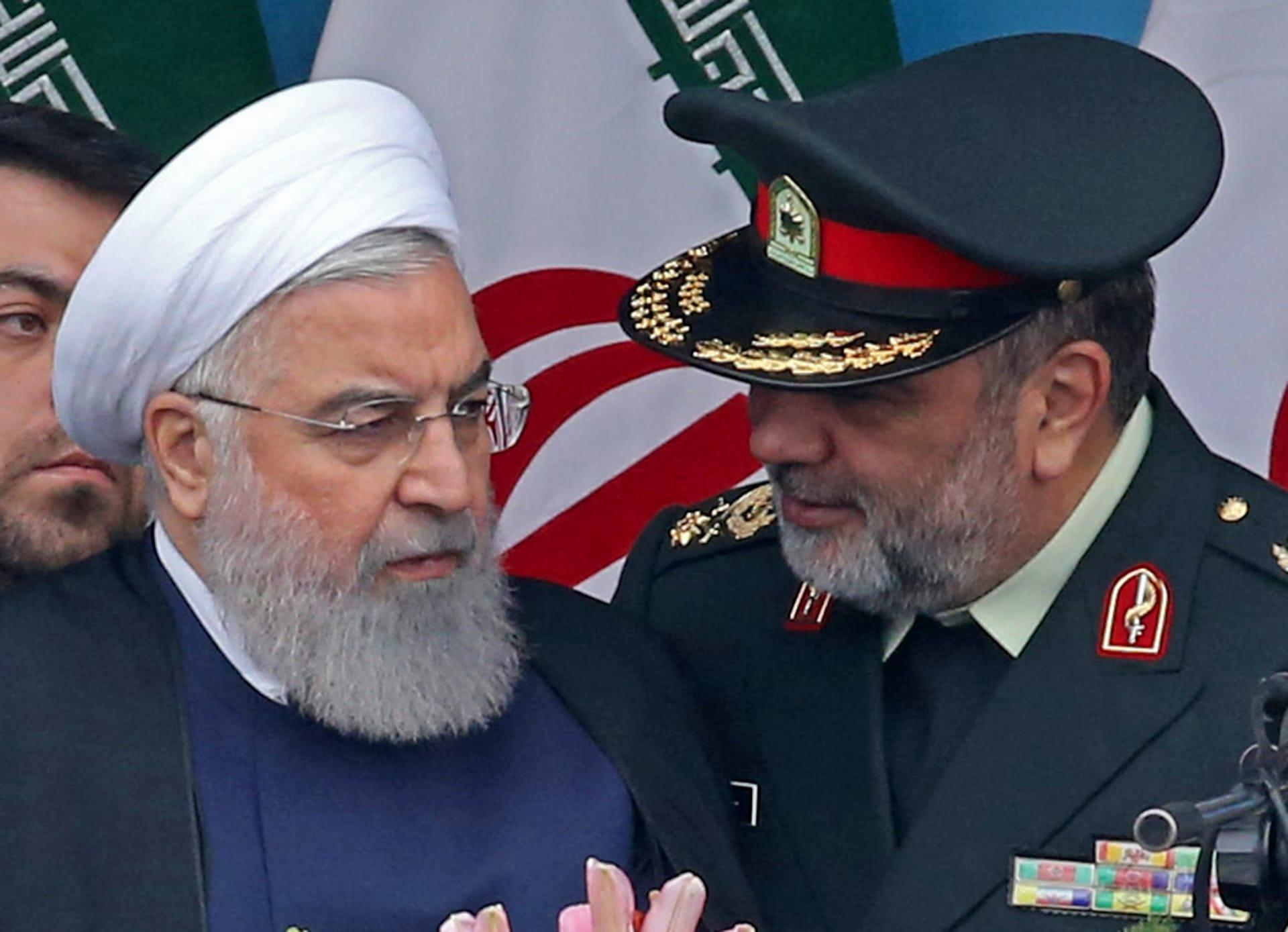 روحاني: قوة الأمة الإيرانية دفعت الأمريكيين للاعتذار والتراجع عن الحرب