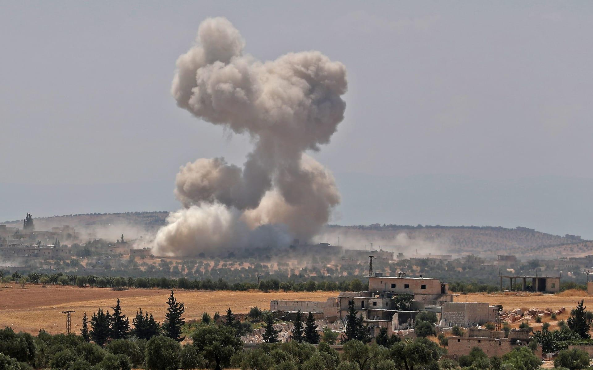 النظام السوري يعلن السيطرة على بلدات خاضعة للمعارضة في ريف حماة