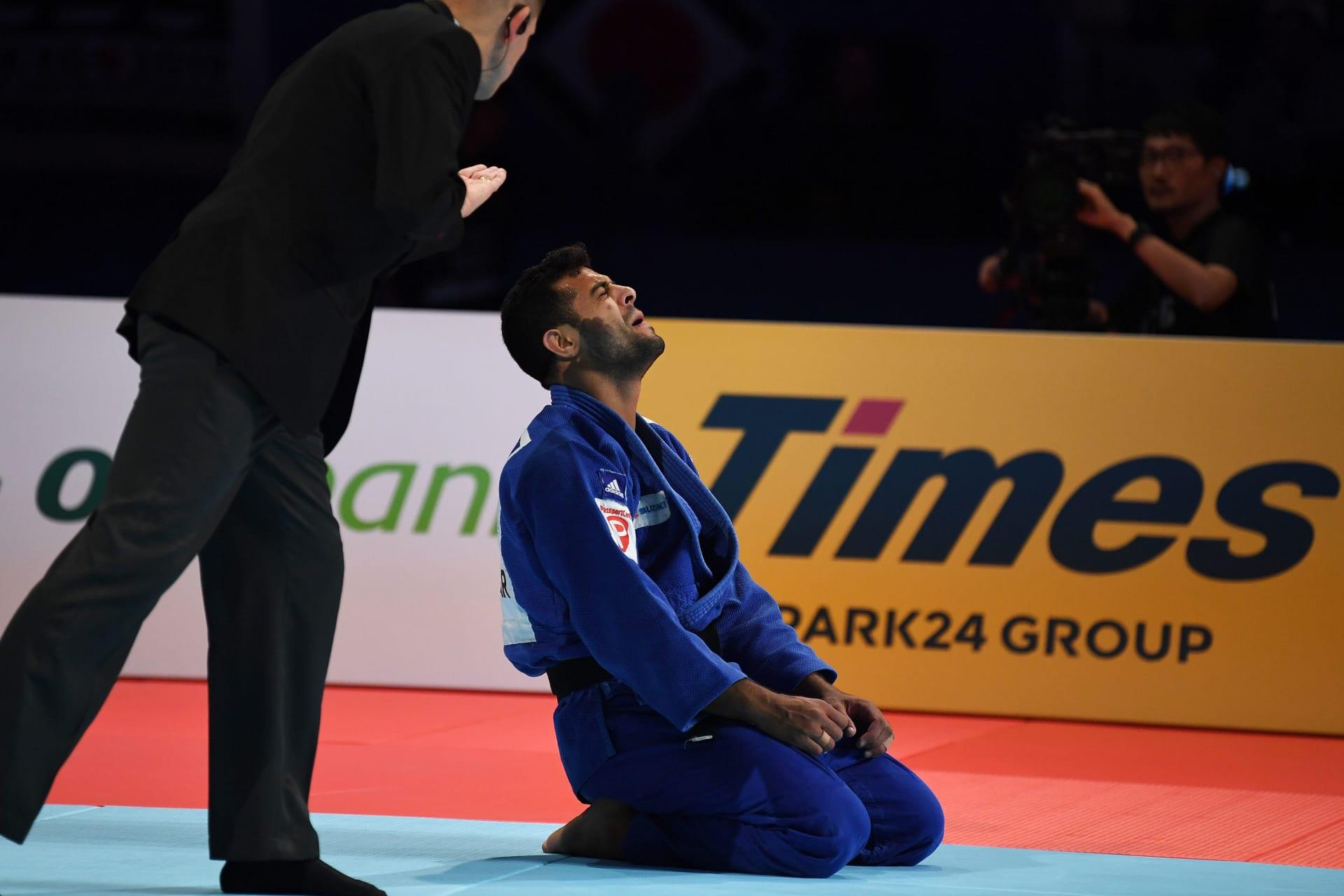 الخارجية الإسرائيلية: لاعب جودو مصري يرفض مصافحة لاعبنا في بطولة العالم