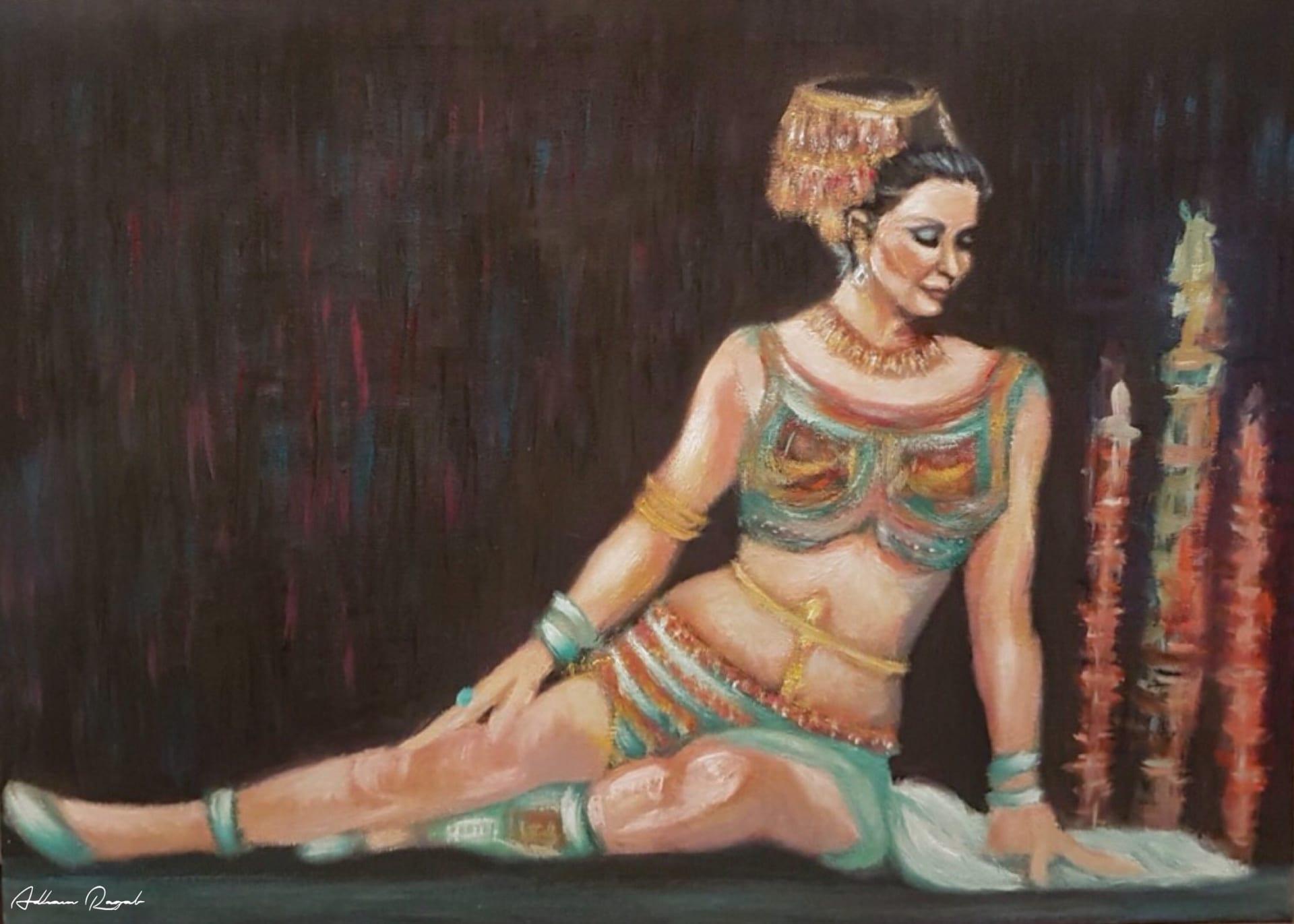 رسام مصري يعيد إحياء مشاهد الأفلام المصرية