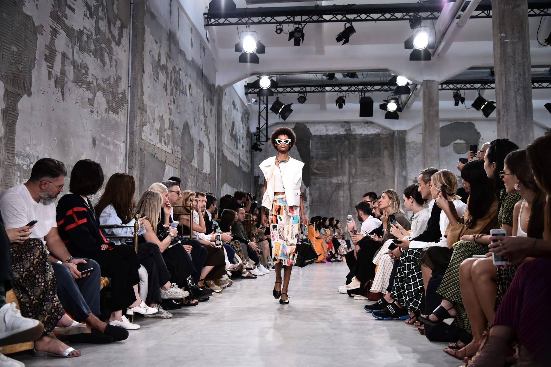 عالم الأزياء في ميلان