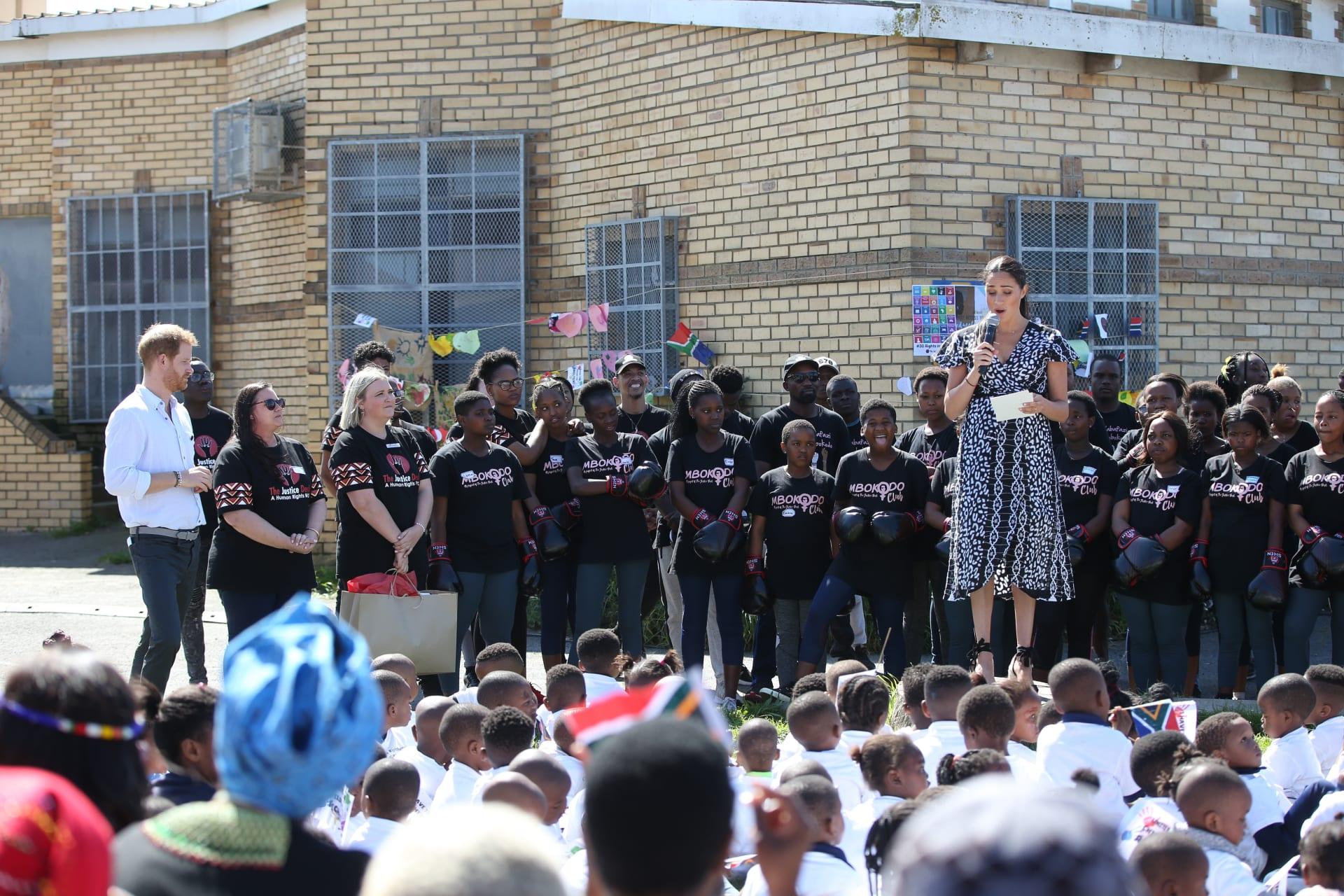 دوق ودوقة ساسكس في جنوب أفريقيا
