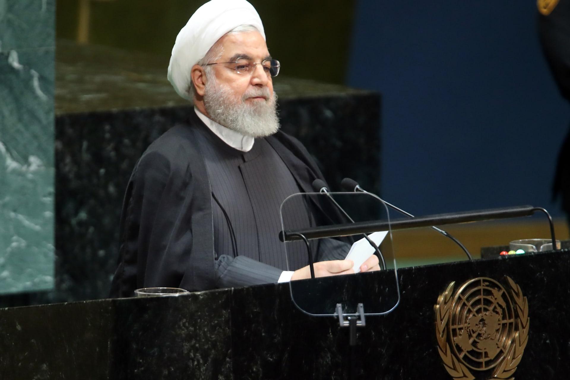 روحاني لمن يتهمون إيران بالهجوم على أرمكو: قدموا أدلة.. واليمنيون لهم حق الدفاع عن النفس