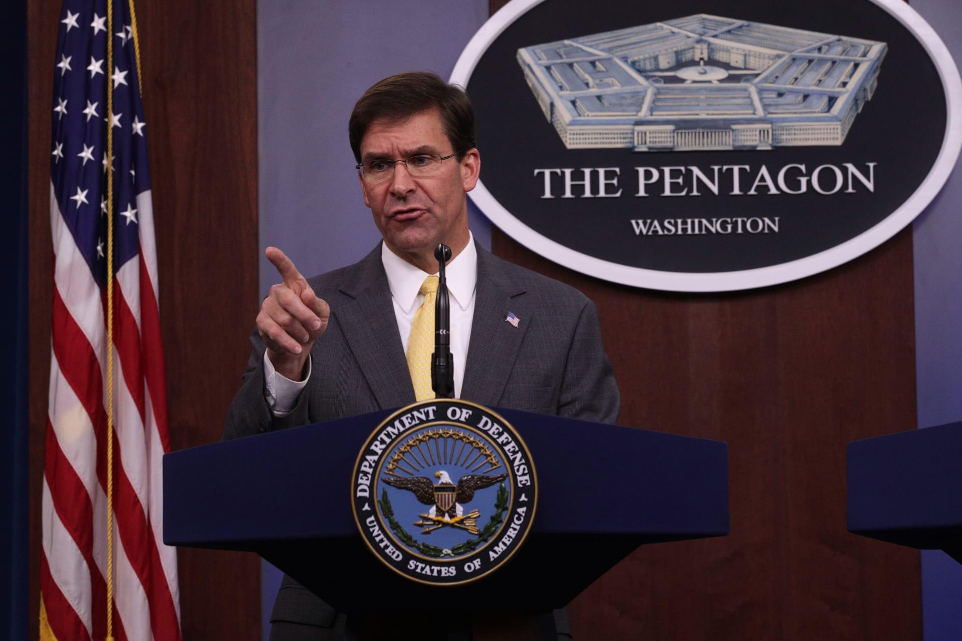 الجيش الأمريكي يعلن نشر بطارية صواريخ باتريوت و4 رادارات و200 جندي بالسعودية