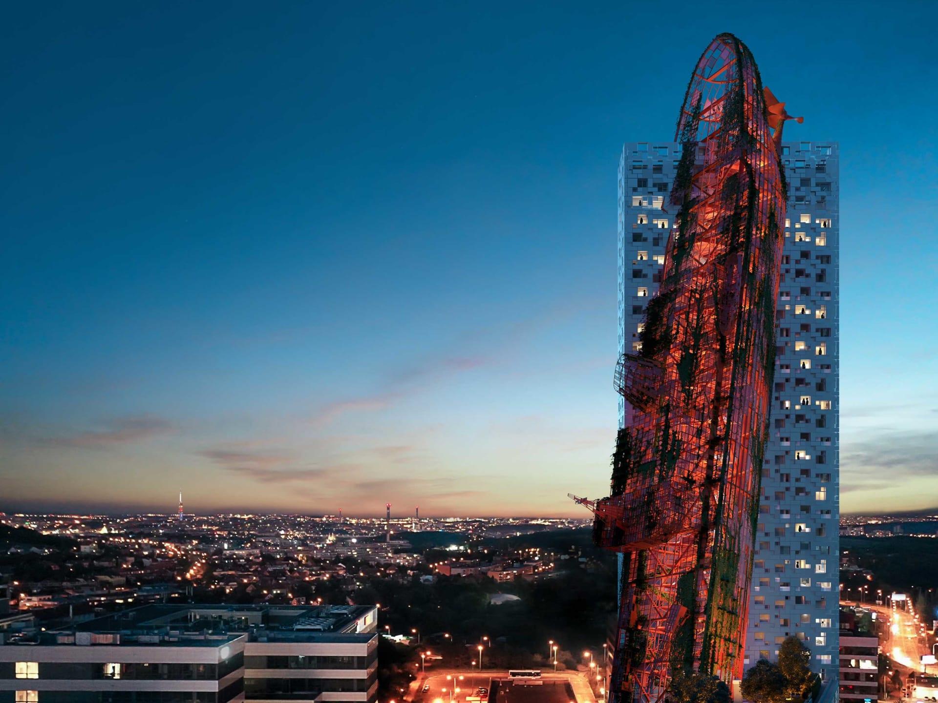 يشبه ناقلة نفط مدمرة..بناء مثي للجدل وسط مدينة براغ فما قصته؟