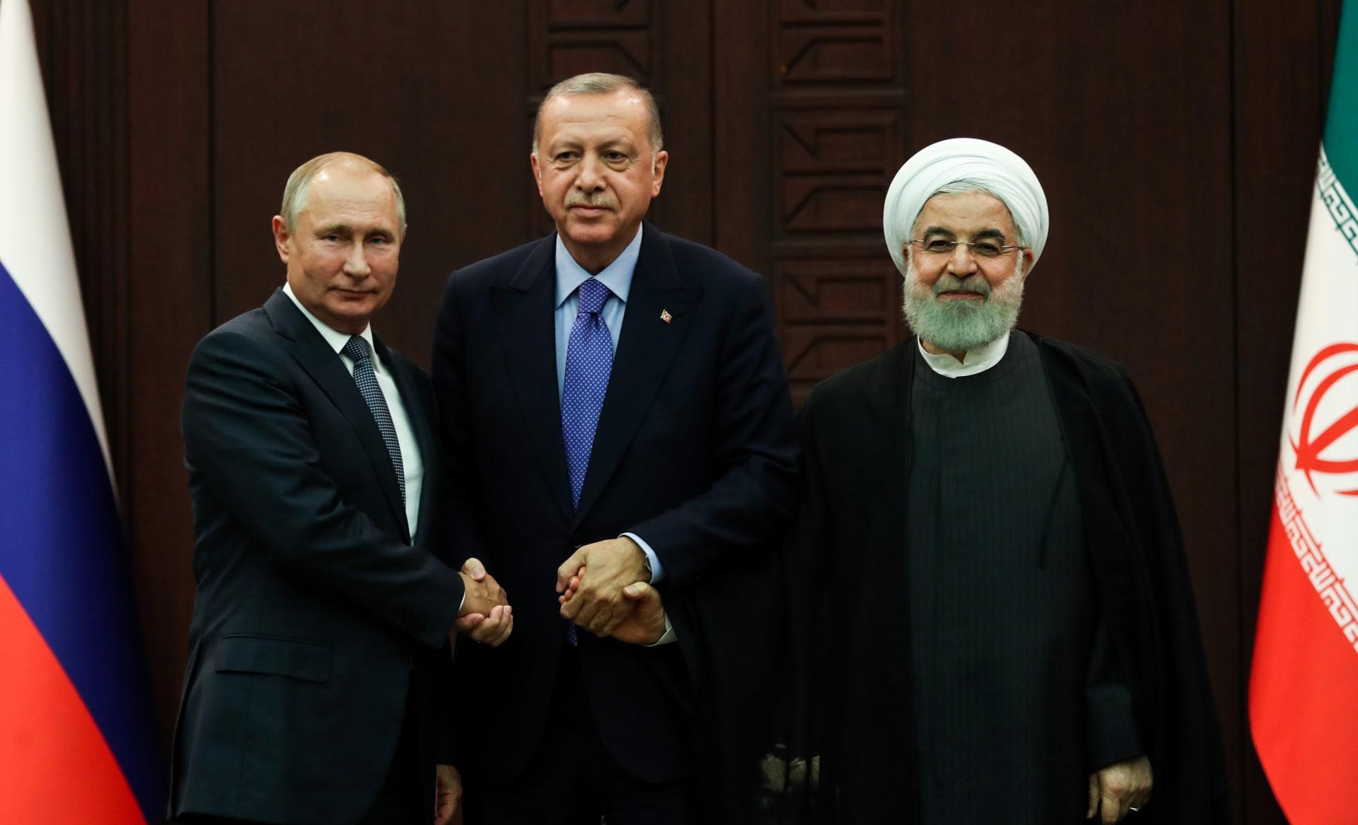 صورة من اجتماع أردوغان وروحاني وبوتين حول سوريا بأنقرة في 16 سبتمبر/ أيلول 2019