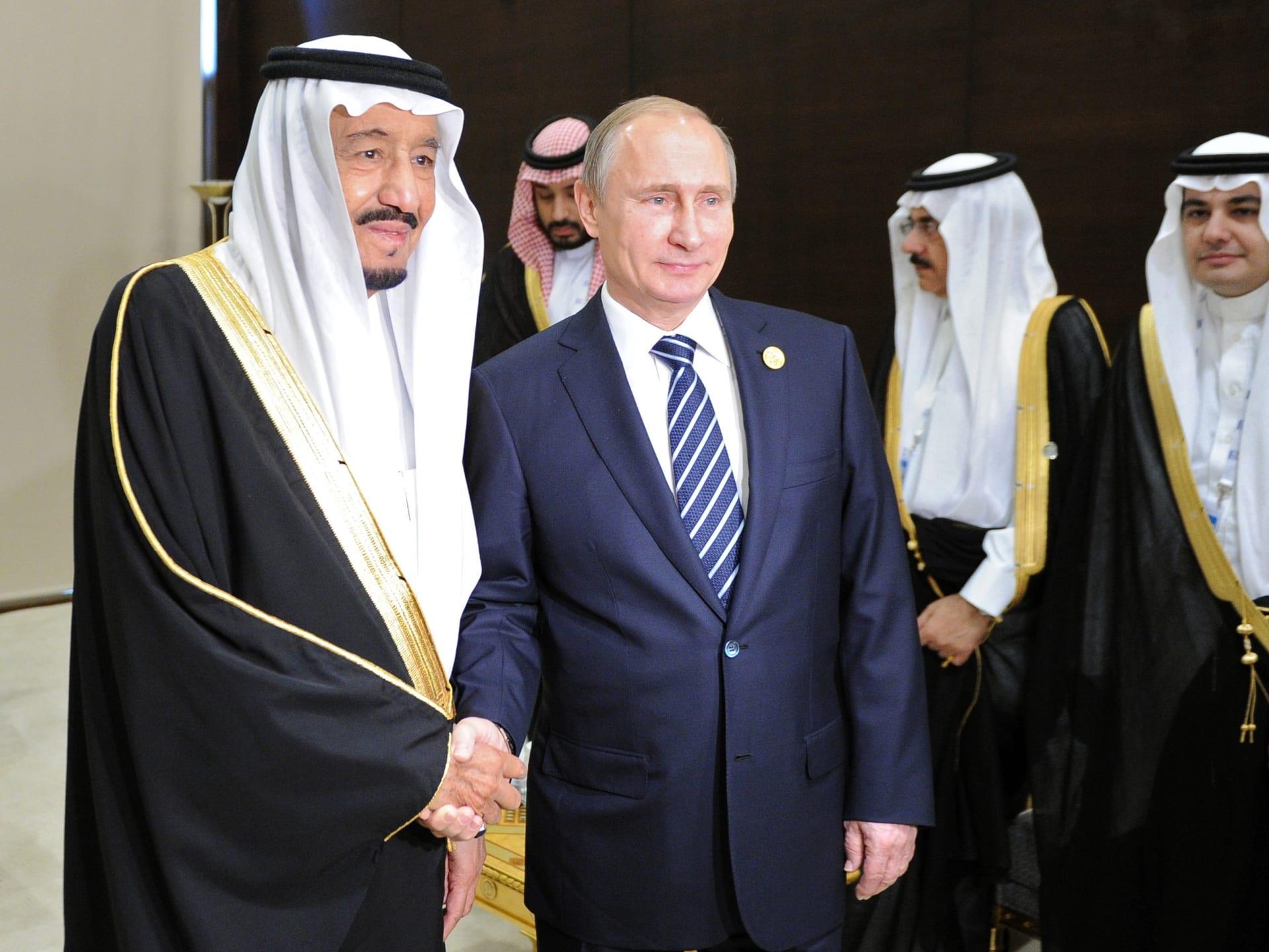 بوتين: هجمات الناقلات والمنشآت النفطية لن تضر بعلاقاتنا مع الدول العربية