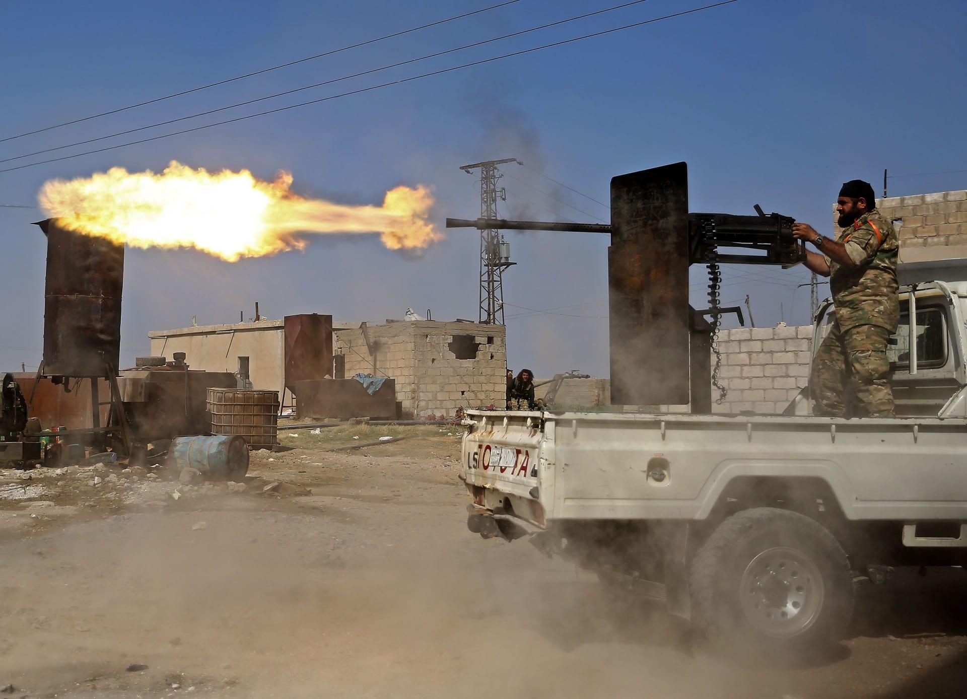 """""""سوريا الديمقراطية"""": جميع سجناء داعش هربوا من مخيم عين عيسى"""