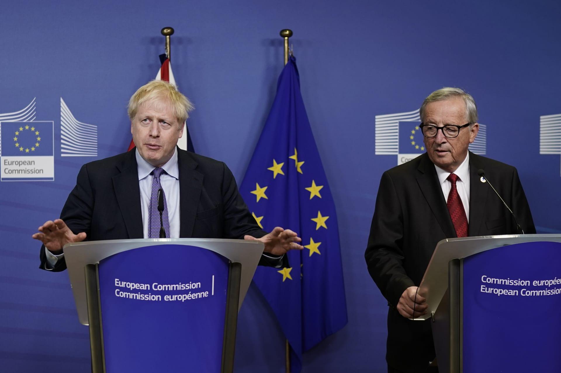 بريطانيا والاتحاد الأوروبي يعلنان التوصل لاتفاق جديد للبريكست
