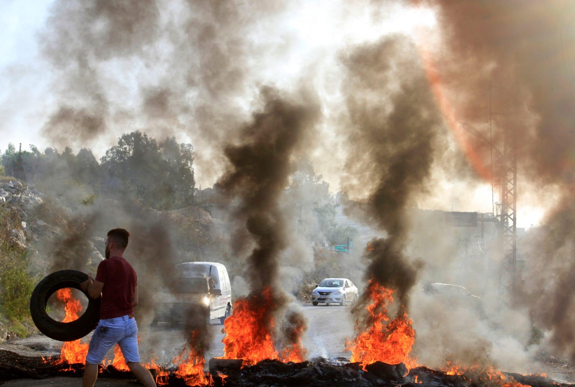 وزير الخارجية اللبناني يدعو أنصاره لعدم المشاركة في الاحتجاجات