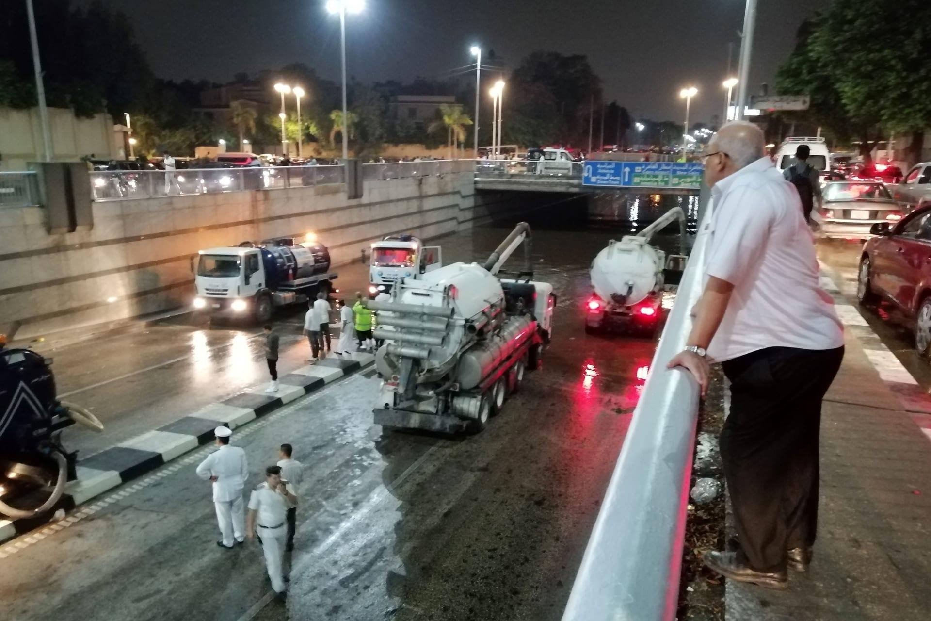 """""""مصر بتغرق"""".. ردود فعل واسعة بعد سقوط أمطار غزيرة في القاهرة"""