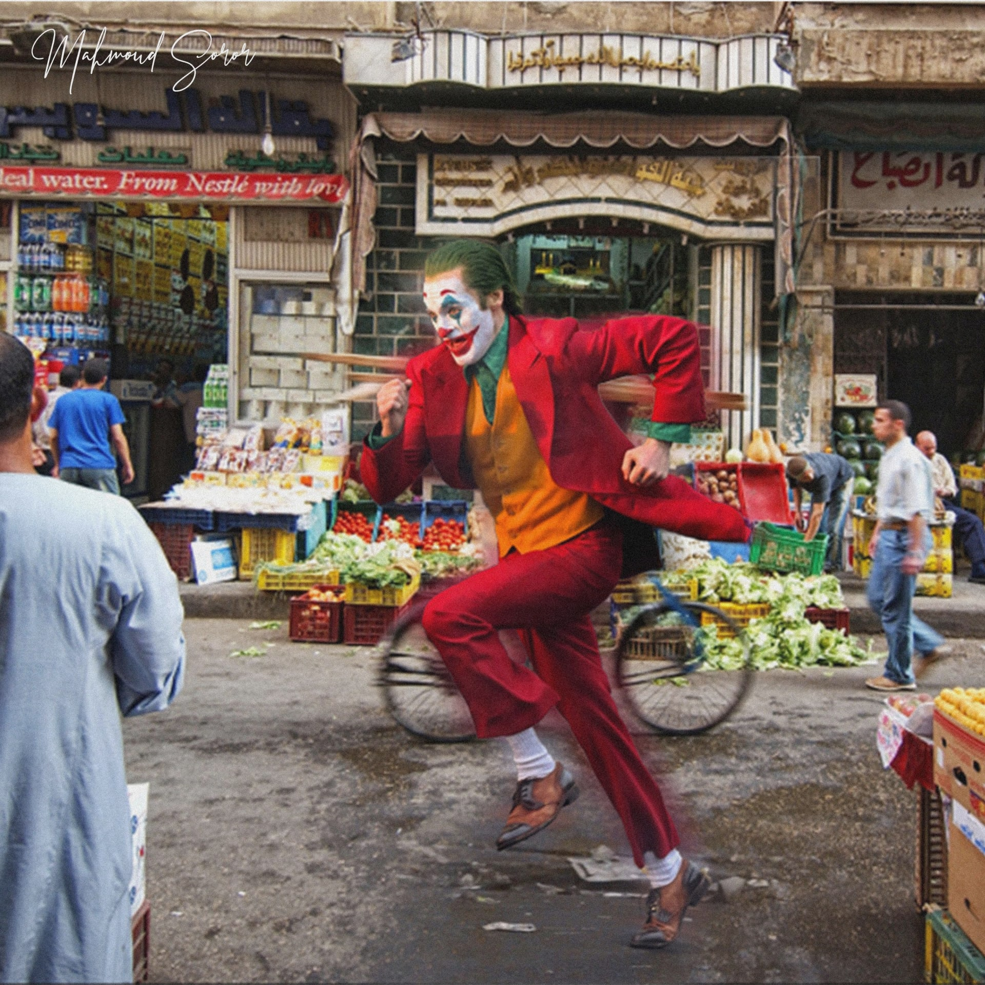 الجوكر في شوارع مصر.. كيف ستكون حياته مع المصريين؟