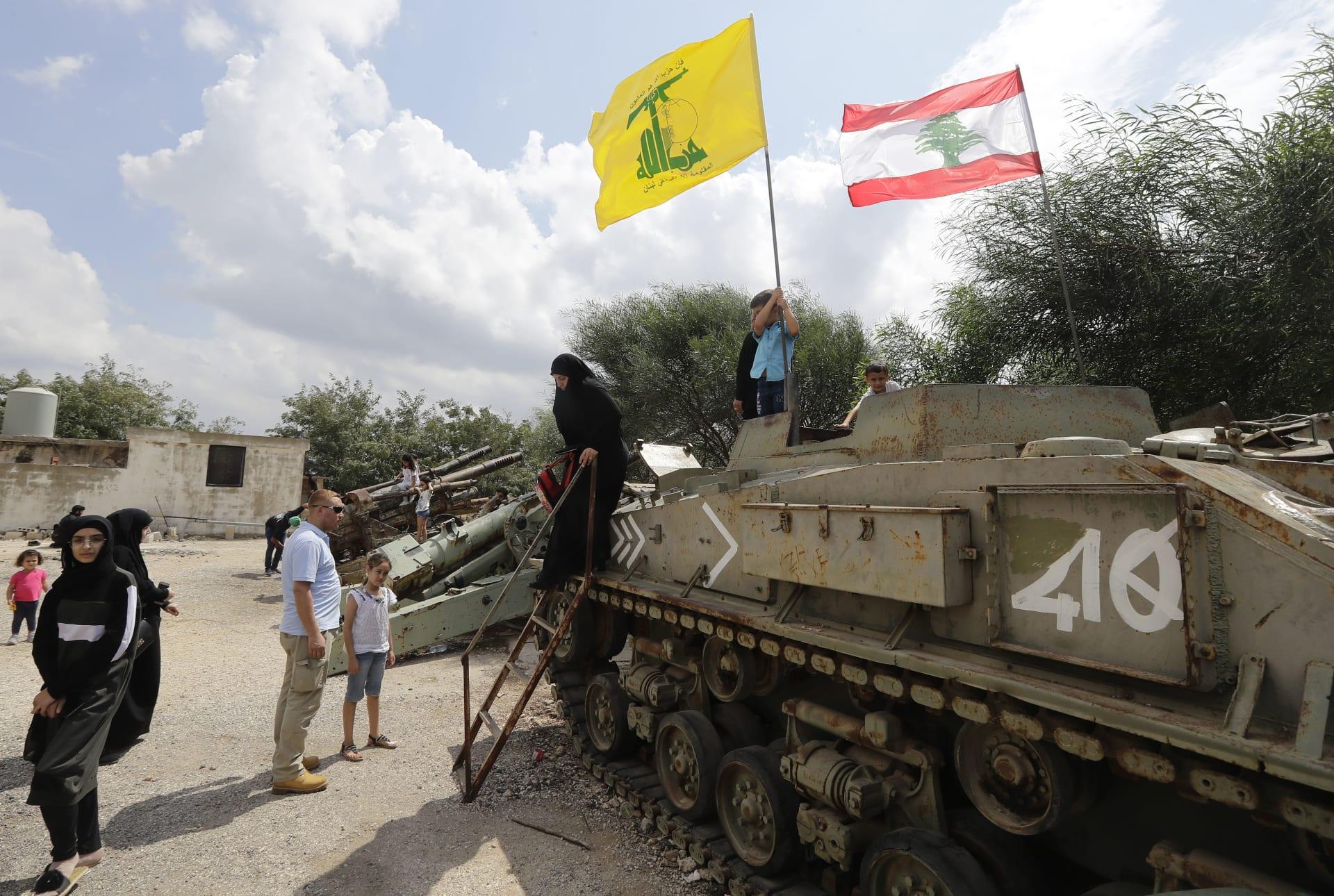 حزب الله يعلن استهداف طائرة إسرائيلية بدون طيار في أجواء لبنان