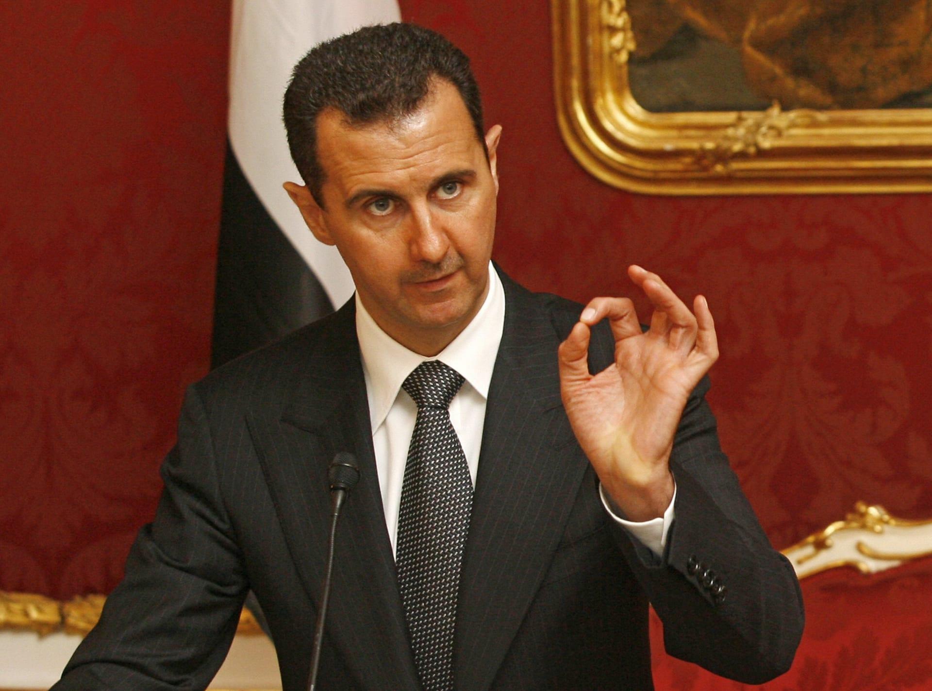 بشار الأسد: موت البغدادي ليس مهما.. وترامب أفضل رؤساء أمريكا