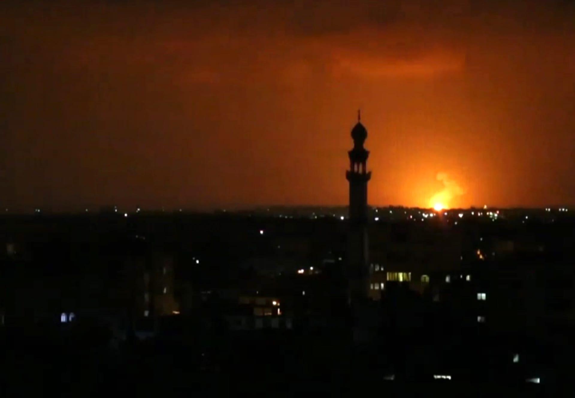 إسرائيل تعلن اعتراض 7 صواريخ أطلقت من قطاع غزة